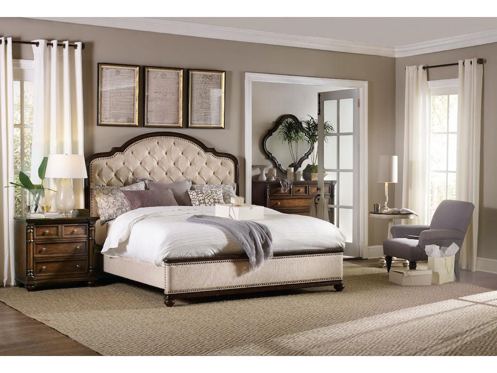 Hooker Furniture Bedroom Leesburg King Upholstered Bed 5381 90866 Brownlee 39 S Furniture