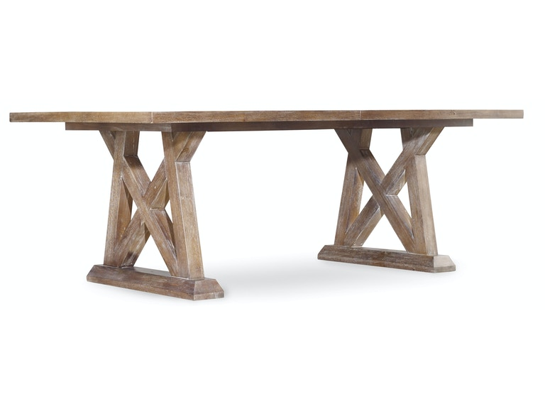 Hooker Furniture Studio 7H Geo Trestle Dining Table 5382-75207