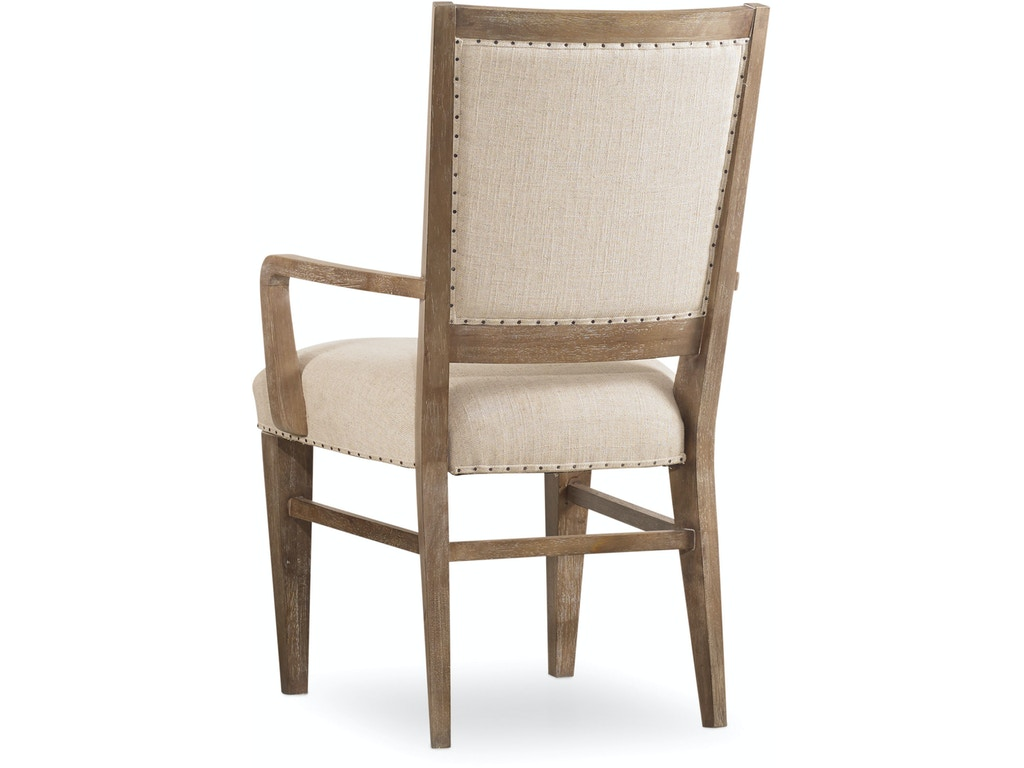 Studio 7h stol upholstered arm chair hs538275400 for Walter e smithe dining room sets