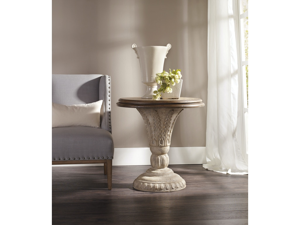Hooker Furniture Living Room Solana Round Accent Table 5391 50001 Finesse F