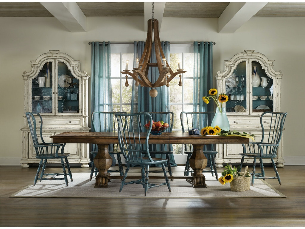 Hooker furniture dining room sanctuary dining cabinet for Dining room tables vancouver wa