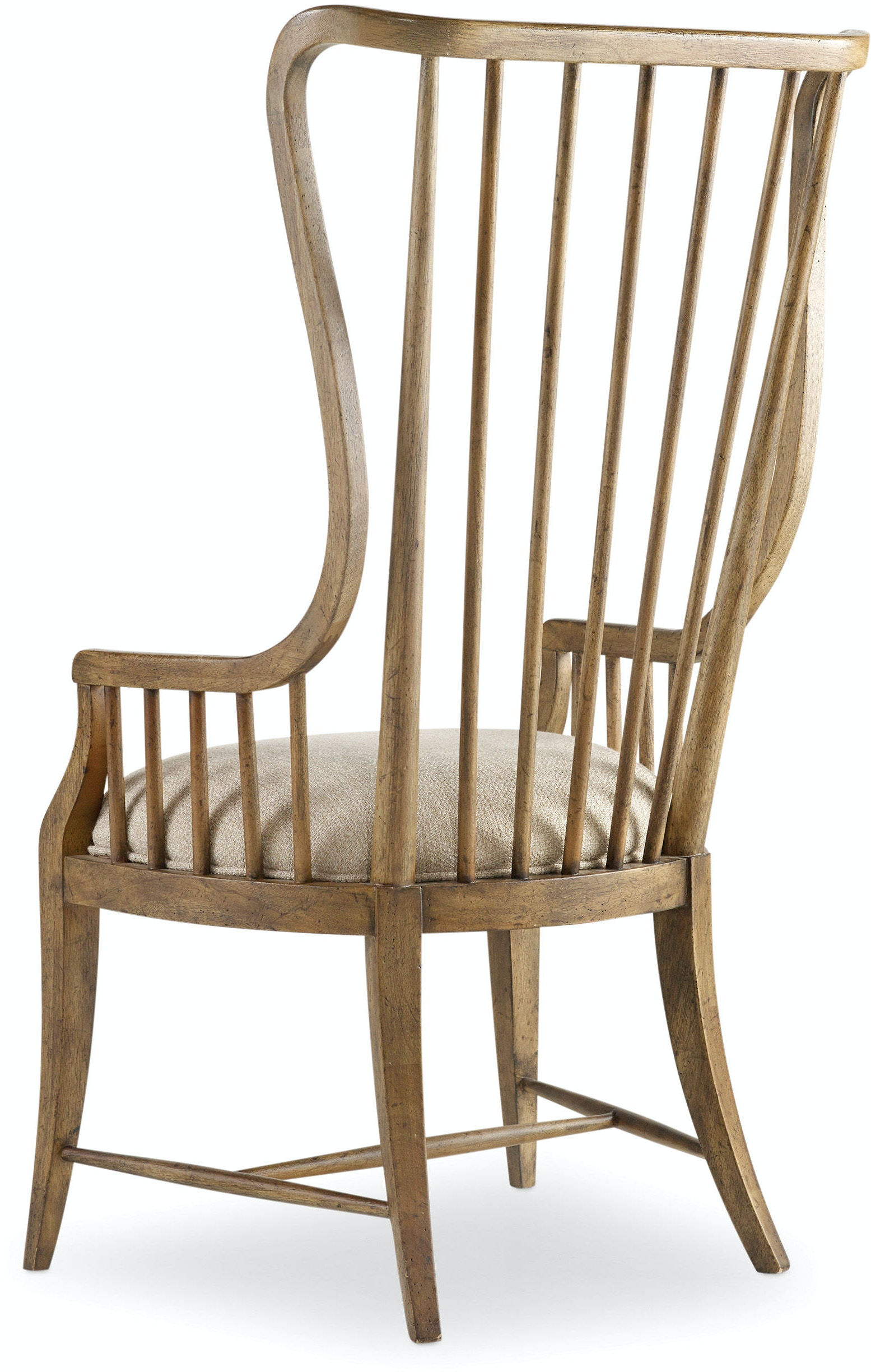 Hooker Furniture Dining Room Sanctuary Tall Spindle Arm Chair 5401