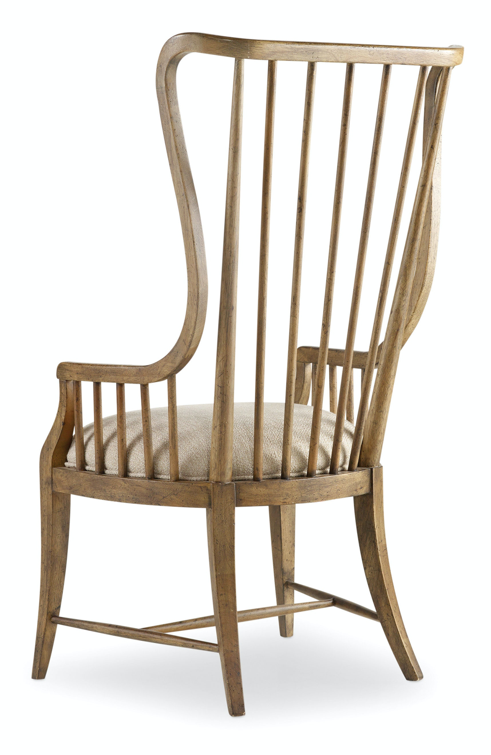 Hooker Furniture Sanctuary Tall Spindle Arm Chair 5401 75400