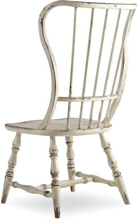 Hooker Furniture Dining Room Sanctuary Spindle Back Side