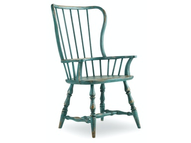 Hooker Furniture Sanctuary Spindle Arm Chair 5405-75300