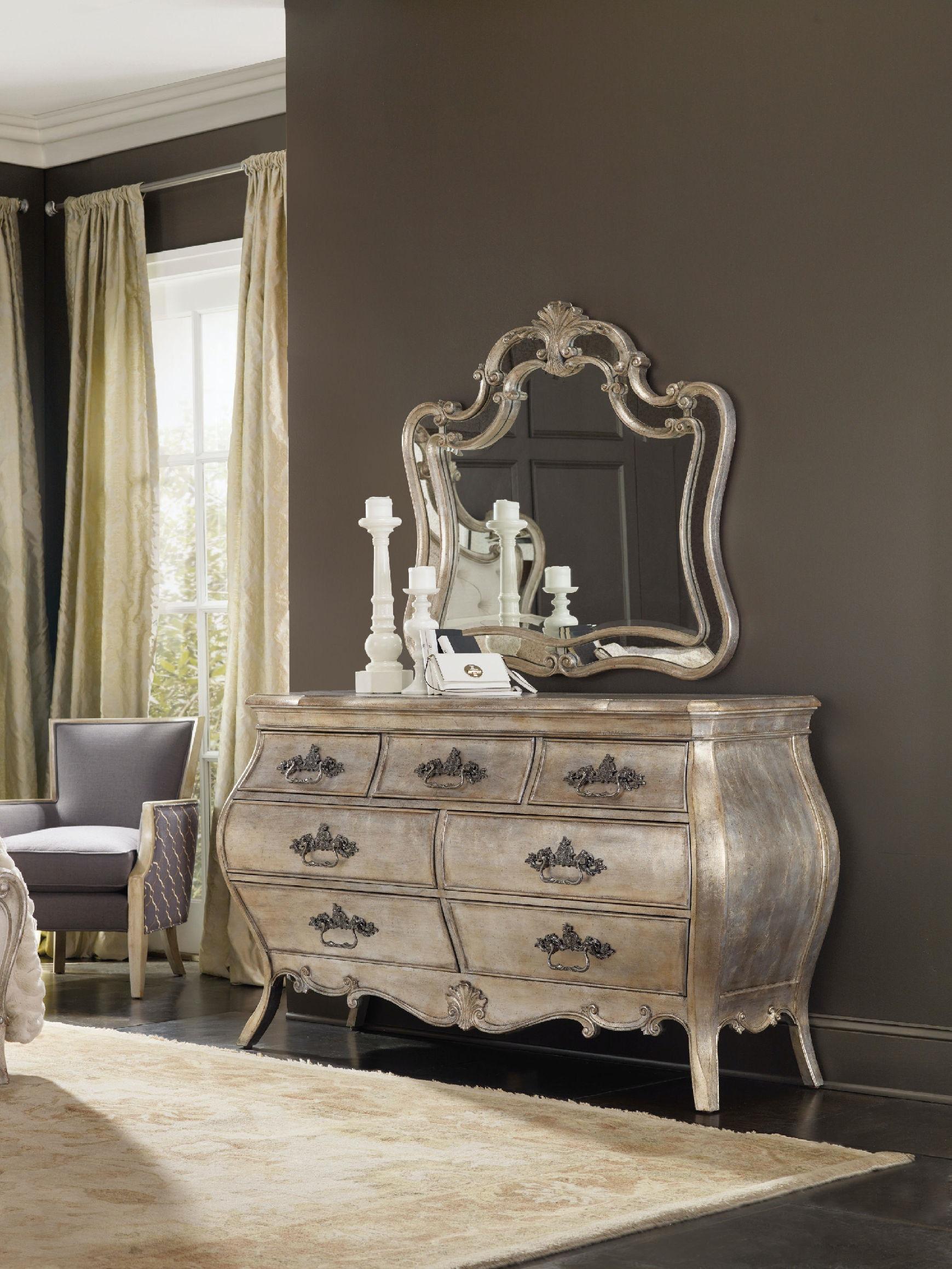 Hooker Furniture Sanctuary Shaped Mirror 5413 90009