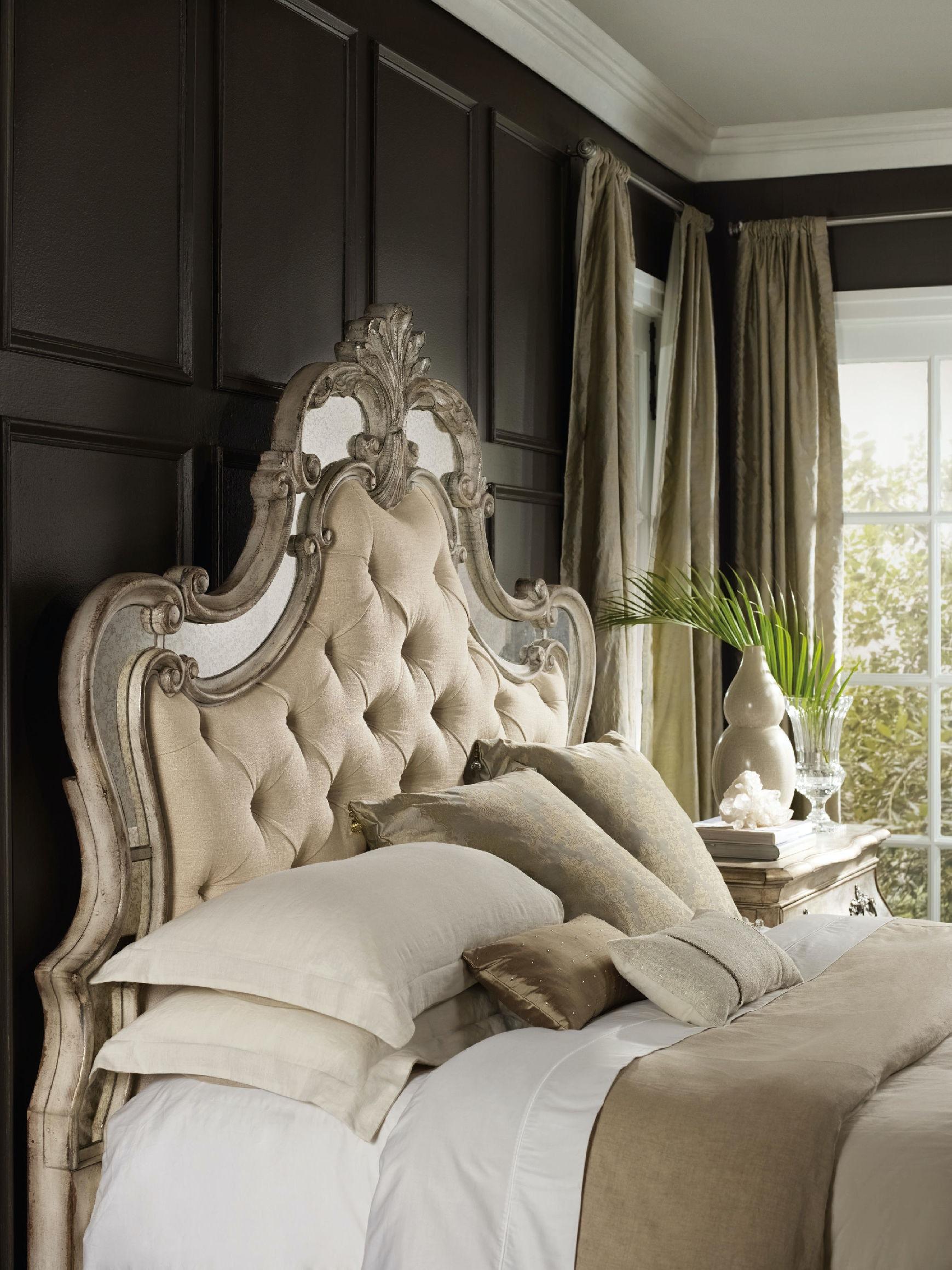 Hooker Furniture Sanctuary King Upholstered Bed 5413 90866