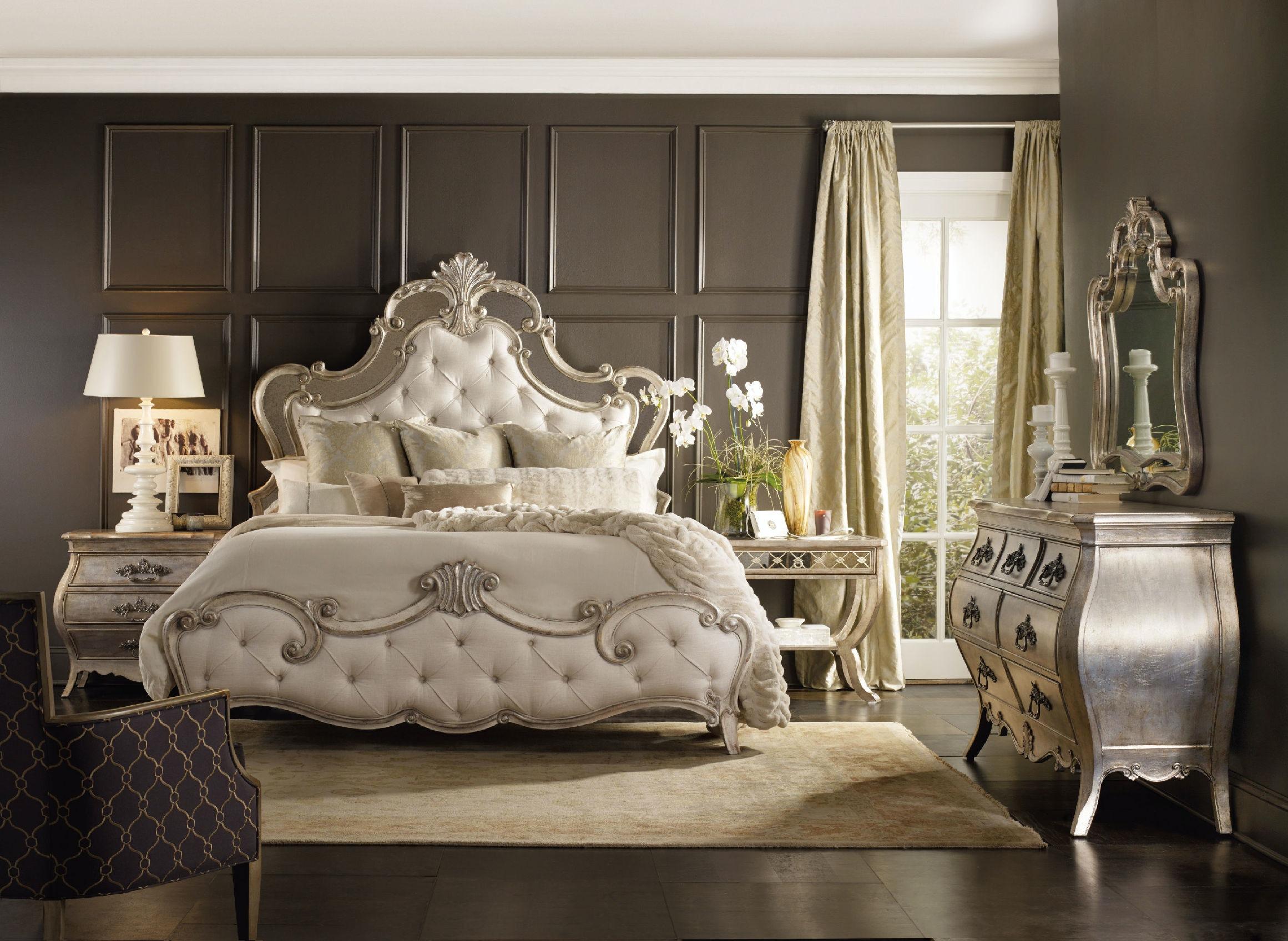 Hooker Furniture Sanctuary Queen Upholstered Bed 5413 90850