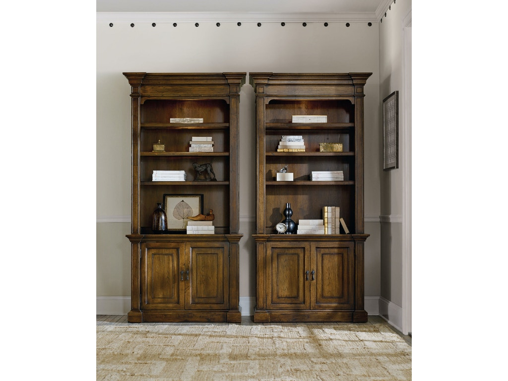 Hooker Furniture Home Office Archivist Bookcase 5447 10446