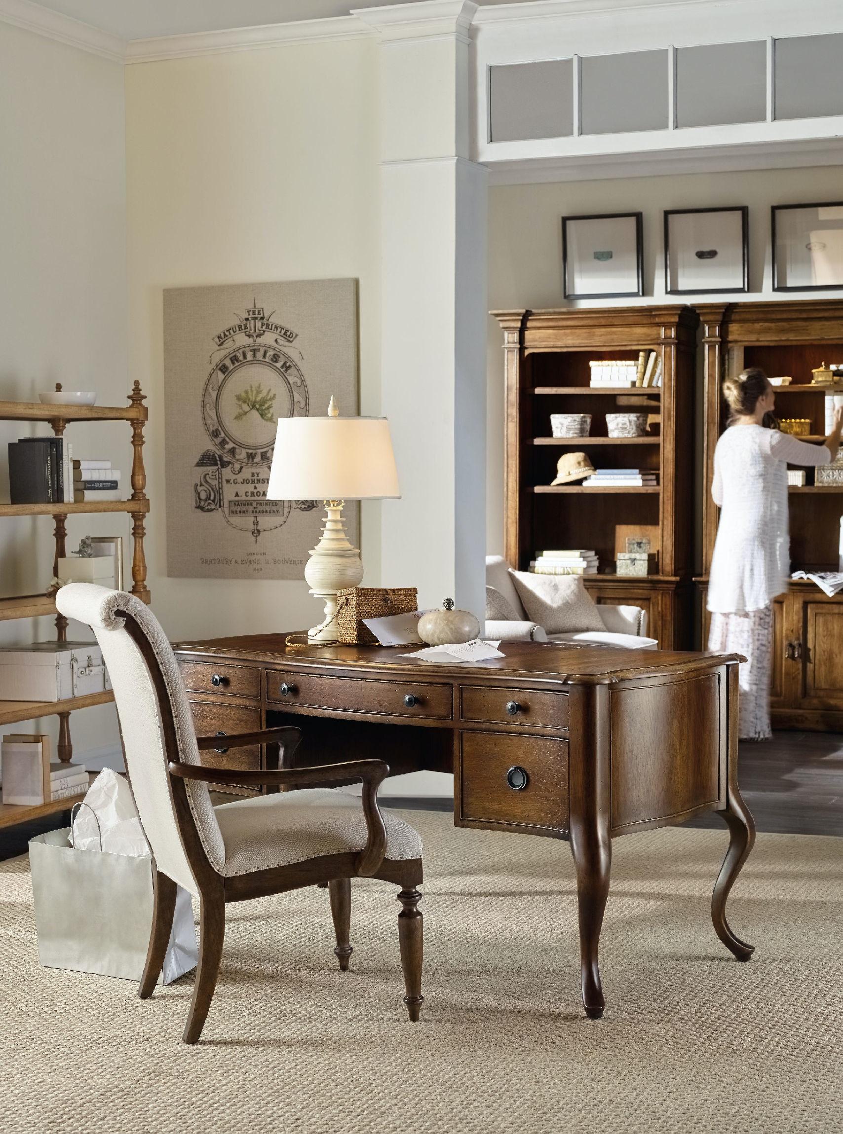 Hooker Furniture Dining Room Archivist Upholstered Side Chair 5447 ...