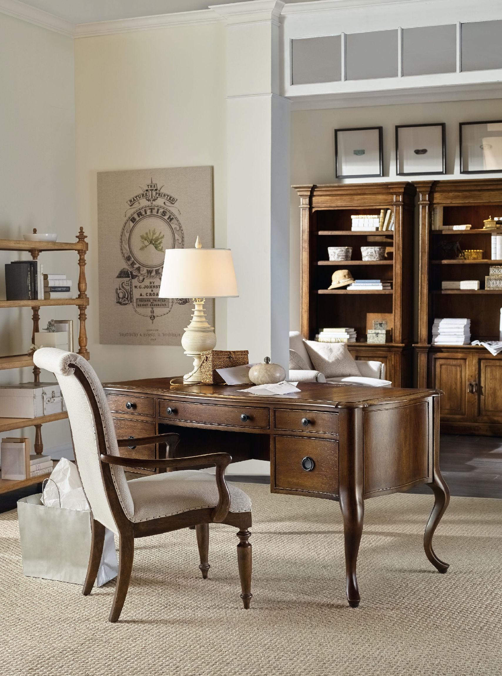 Hooker Furniture Home Office Archivist Writing Desk 5447 10458