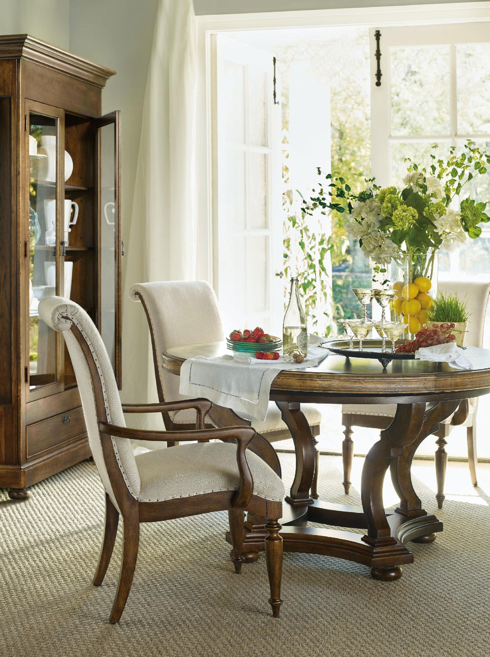 Hooker Furniture Archivist Display Cabinet 5447 75908