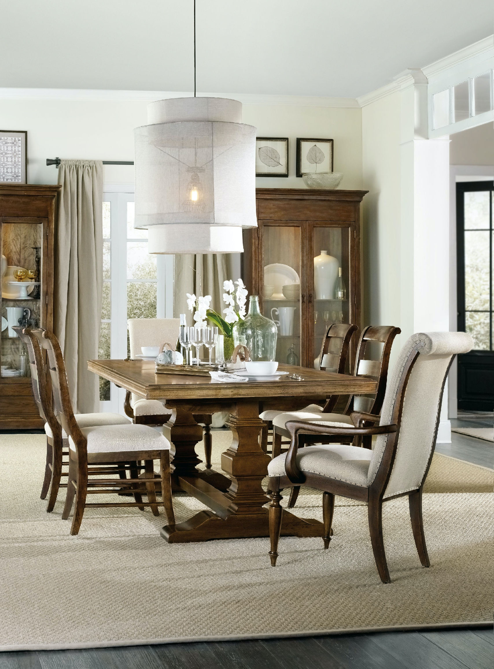Side Chairs For Living Room Hooker Furniture Dining Room Archivist Ladderback Side Chair 5447