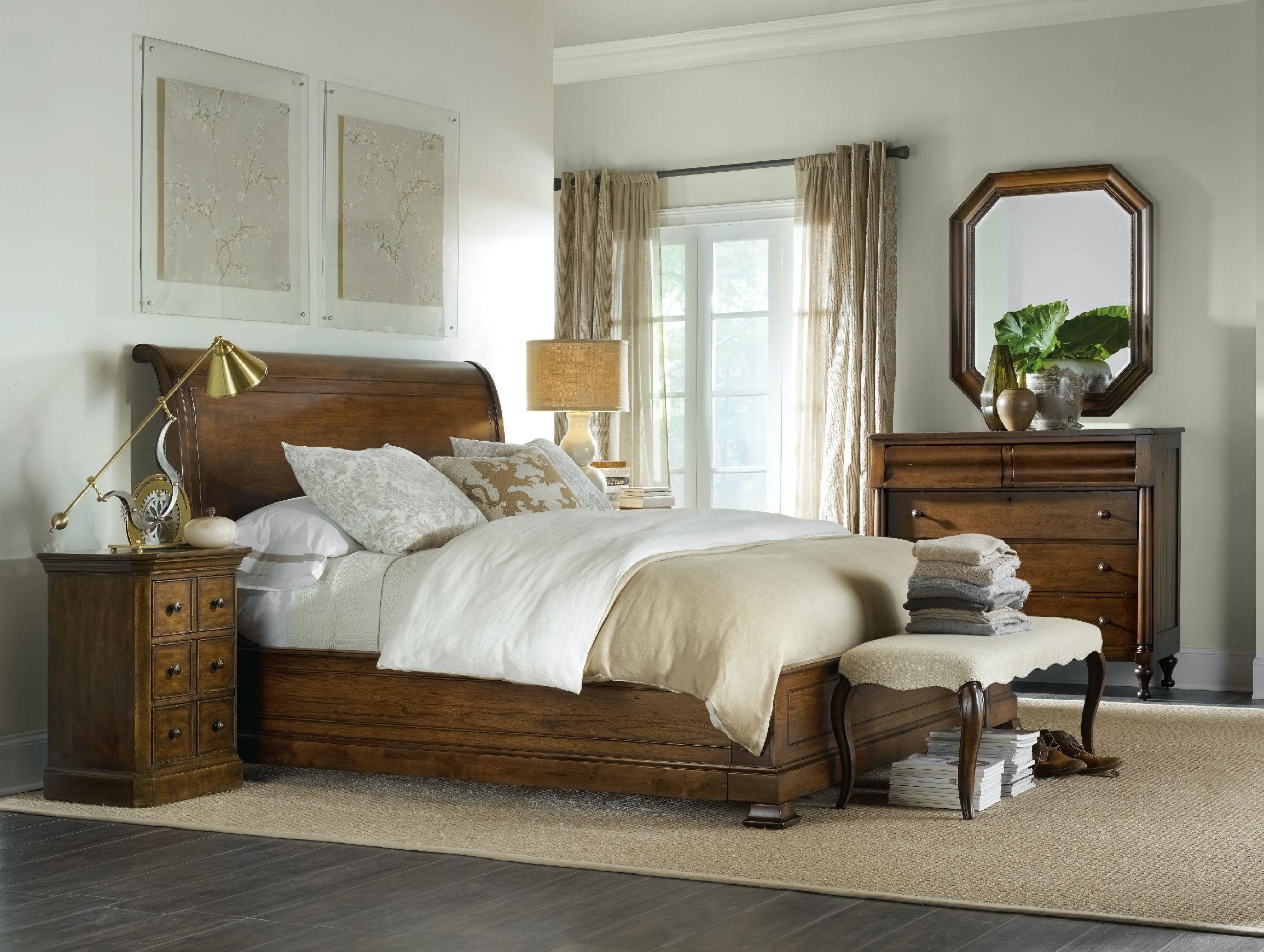 Hooker Furniture Bedroom Archivist Bench 5447-90019