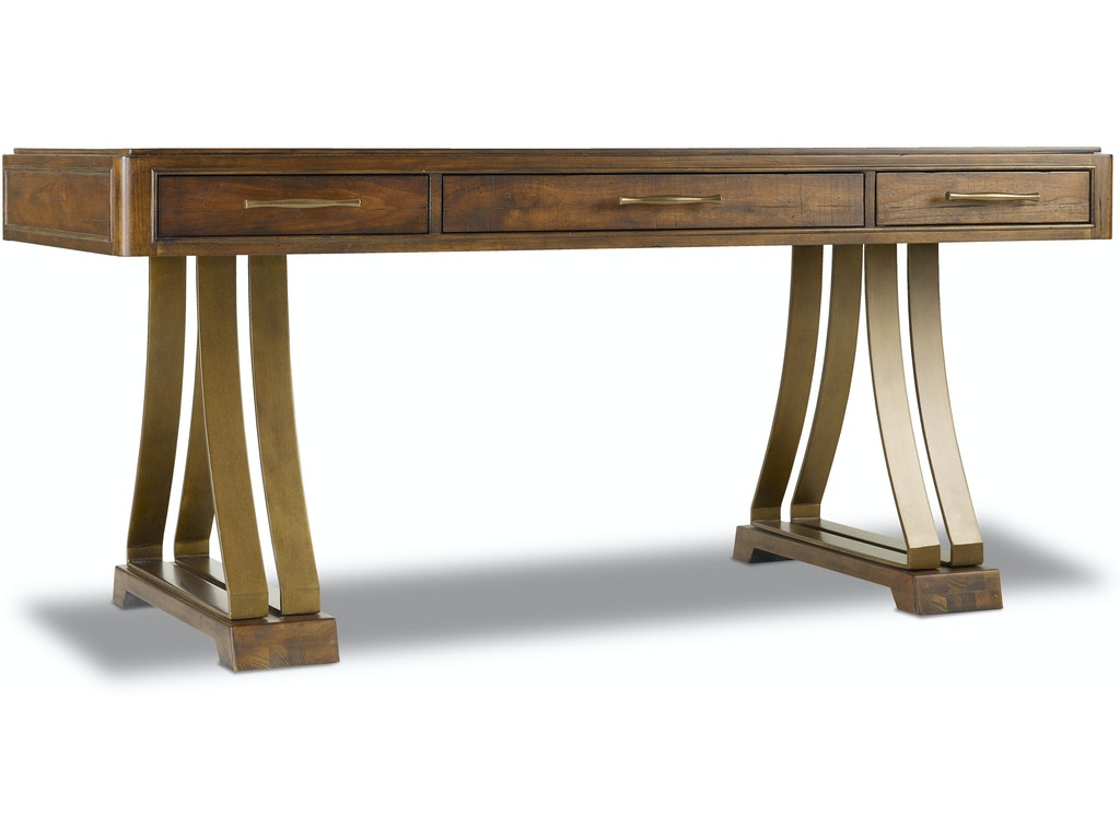 Grand Palais Writing Desk 66 In 5272 10459: Hooker Furniture Home Office Tynecastle Writing Desk 5323