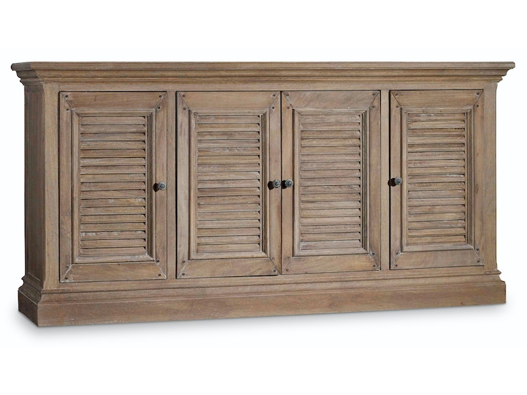 Hooker Furniture Entertainment Console 72in 5484-55472-LTWD