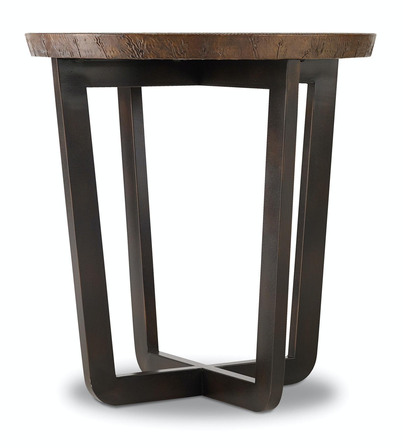 Hooker Furniture Living Room Parkcrest Round End Table 5527-80116-Cor