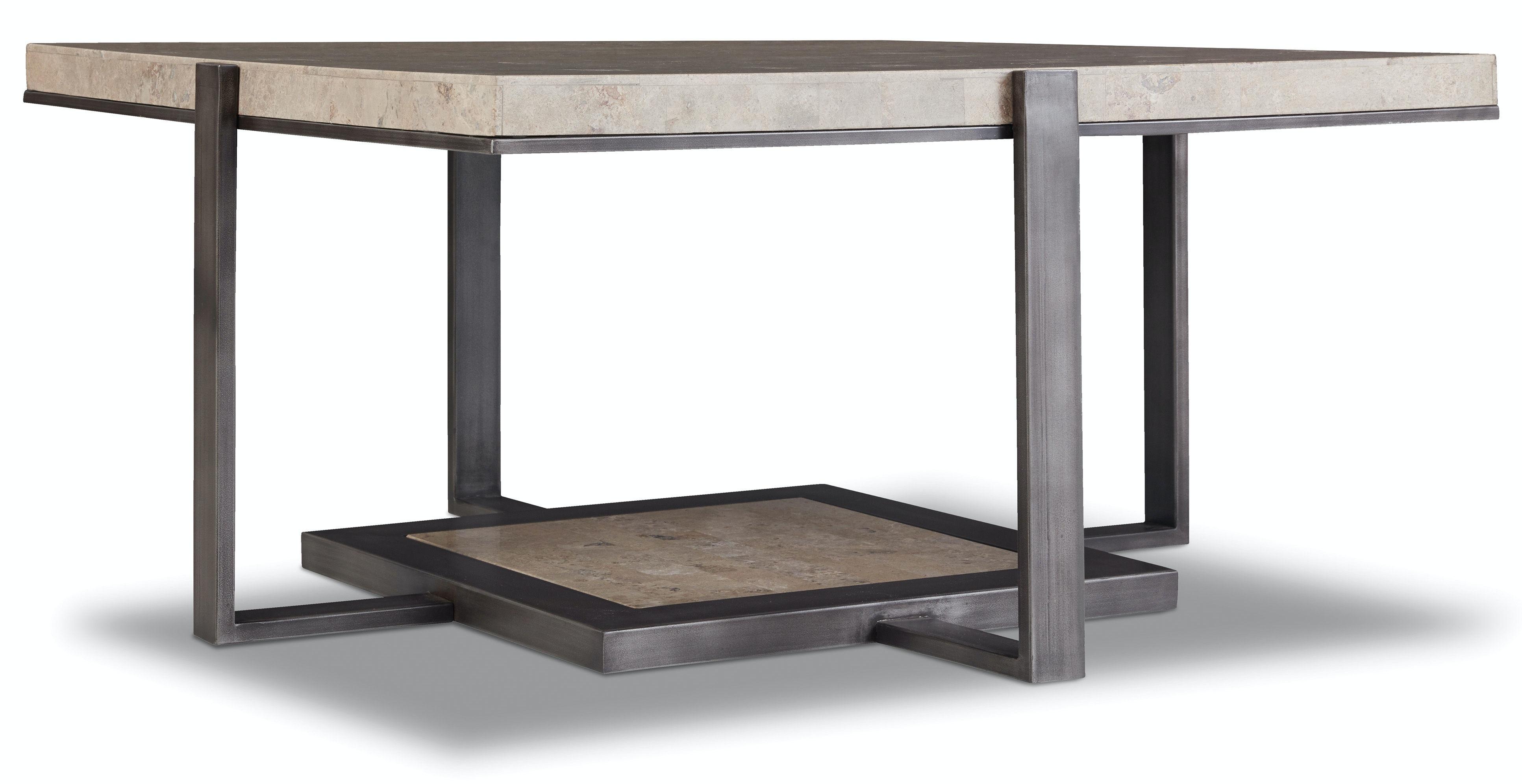 Hooker Furniture Square Cocktail Table 5533 80112 LTBR