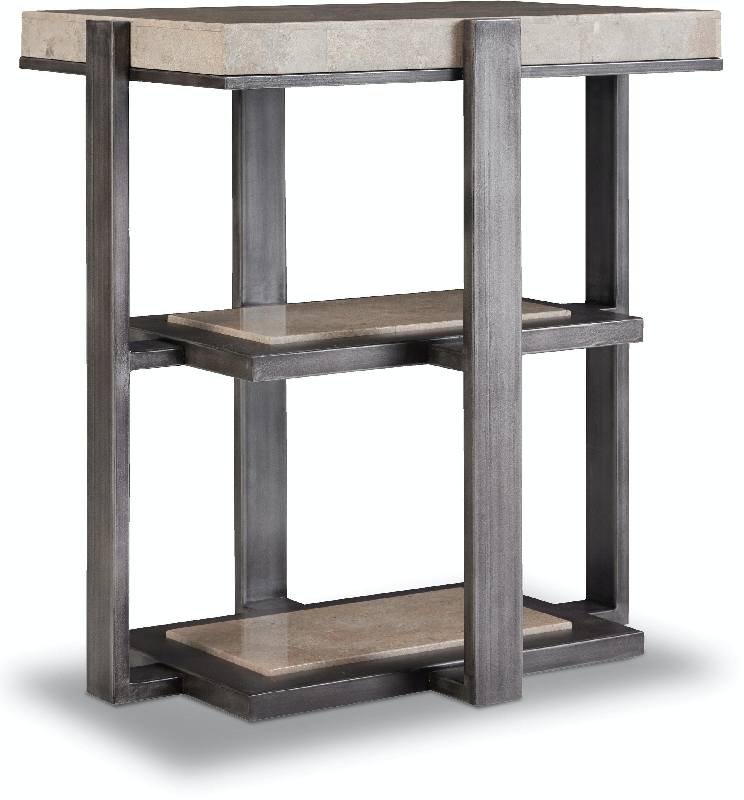 Hooker Furniture Living Room Chairside Table 5533 LTBR