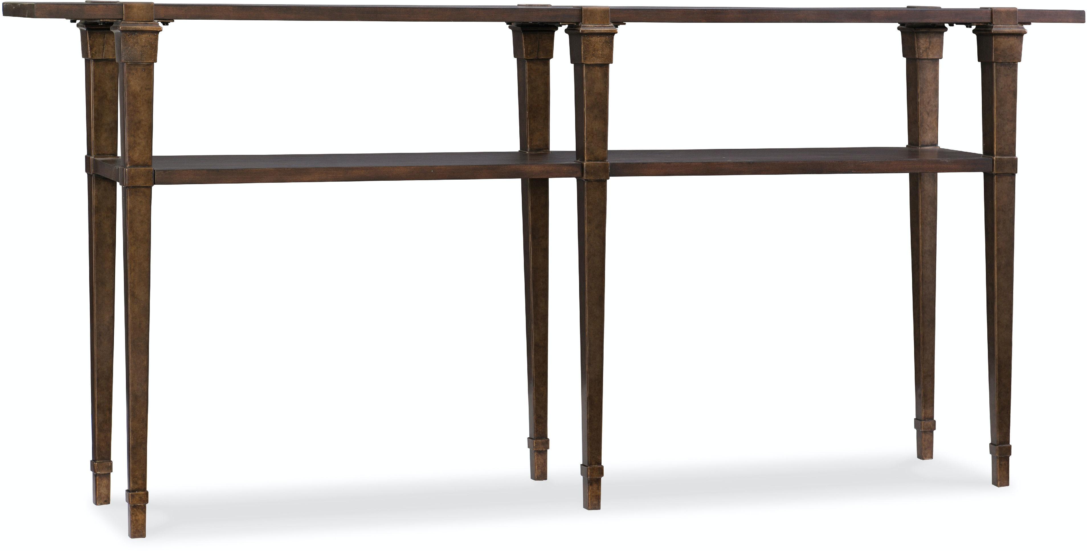 Hooker Furniture Living Room Skinny Console Table 5589 DKW