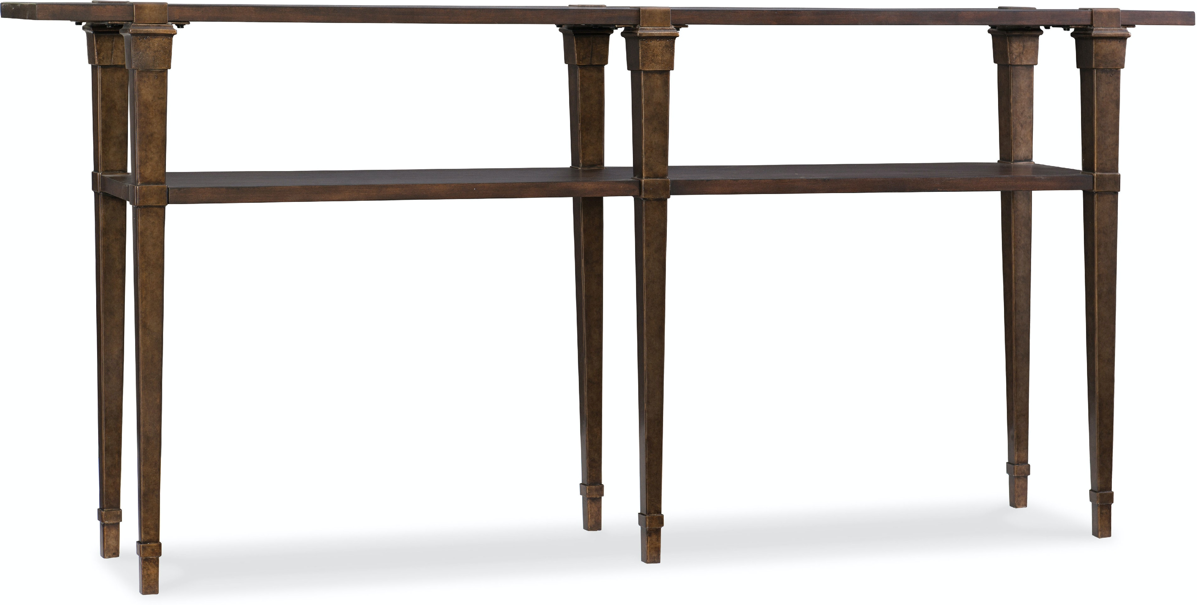 new concept aba67 cc926 Hooker Furniture Living Room Skinny Console Table 5589-85001-DKW