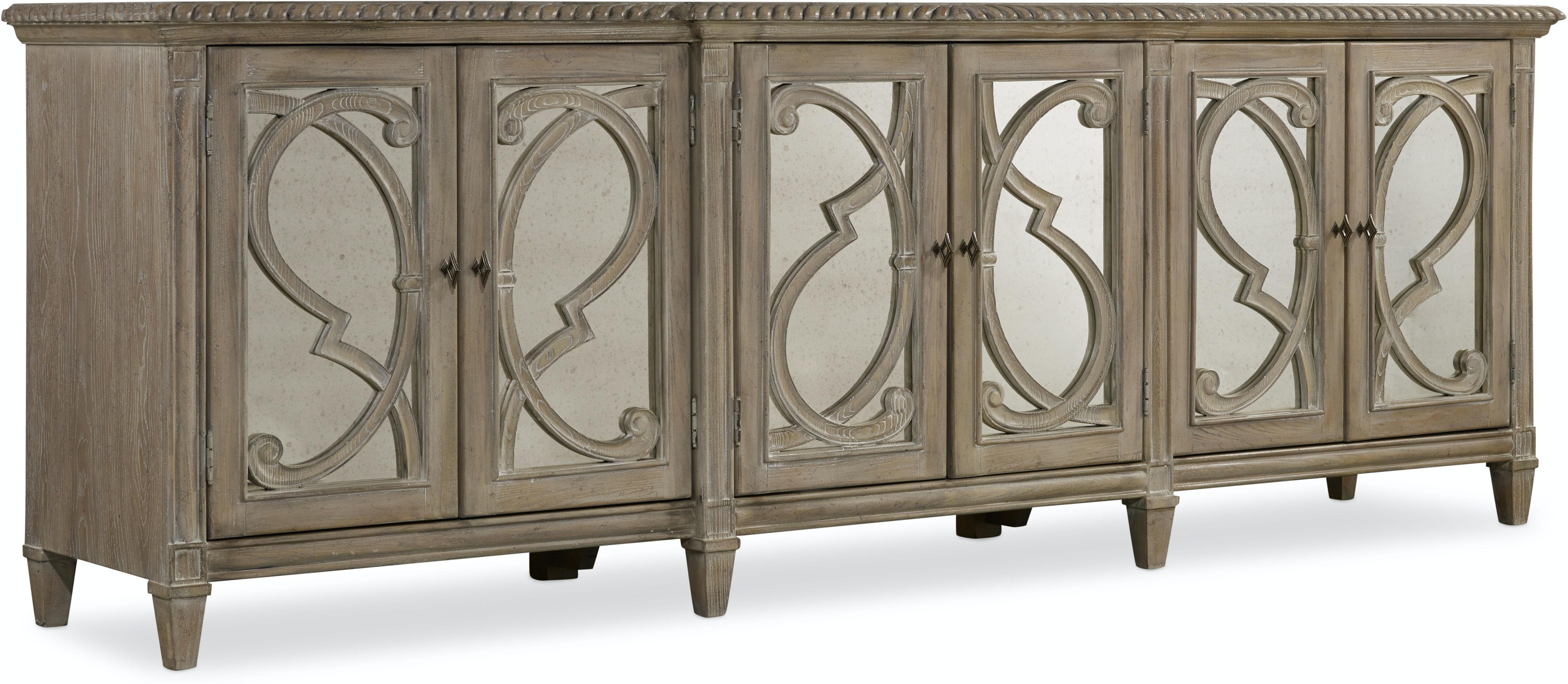Hooker Furniture Living Room Solana Six Door Console 5591 85001