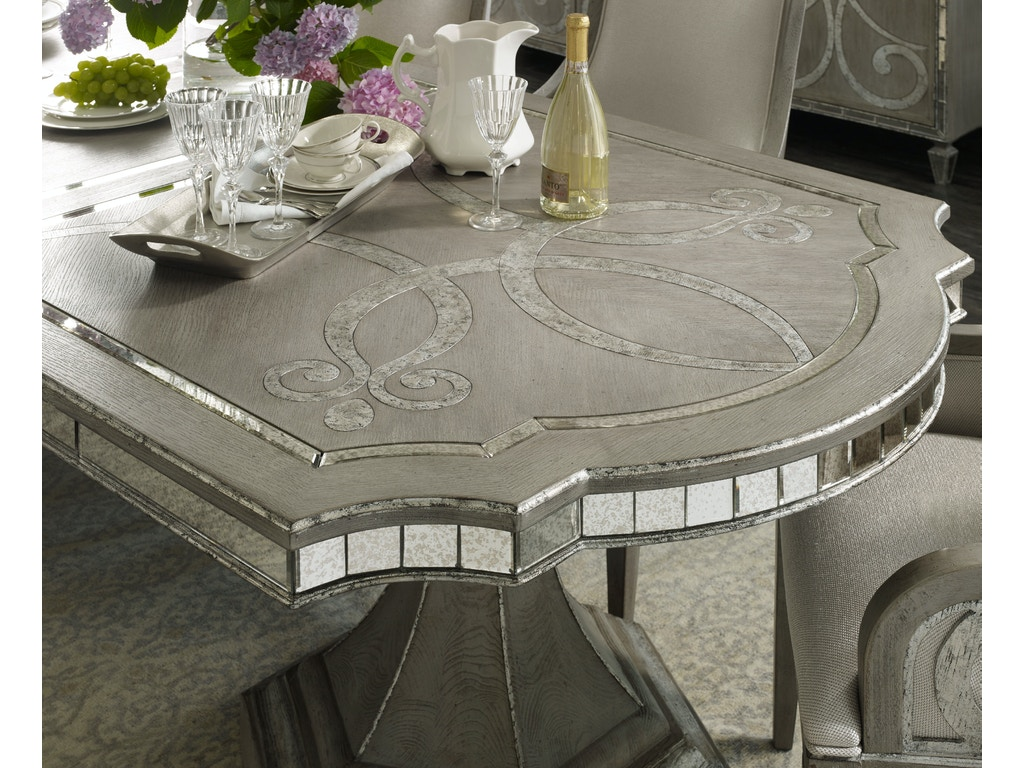 Hooker Furniture Dining Room Sanctuary Rectangle Dining