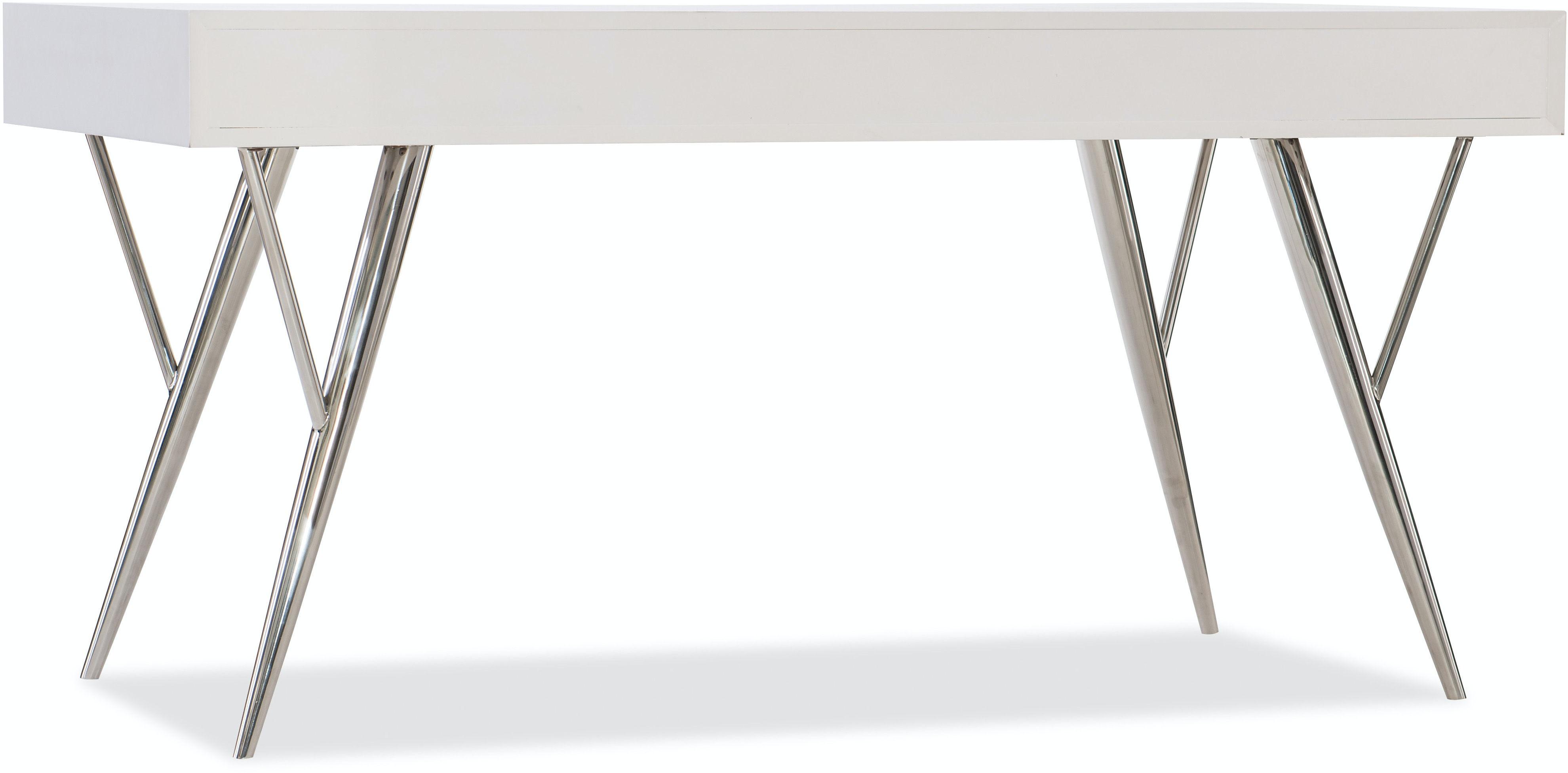 Hooker Furniture Home Office Sophisticated Contemporary Writing - Contemporary writing desk furniture