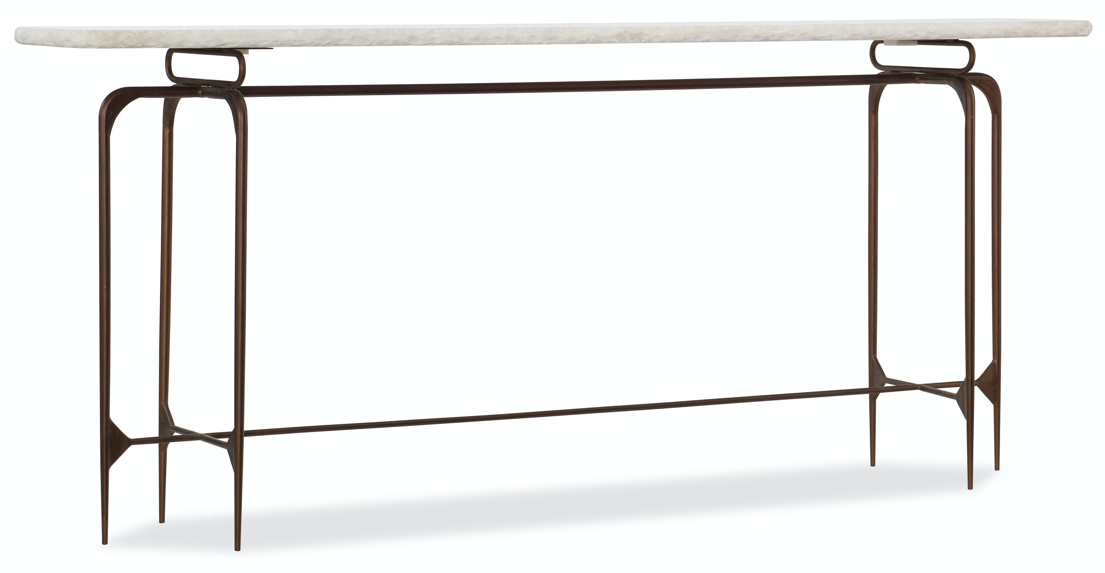 Hooker Furniture Skinny Metal Console 5633 85001 WH
