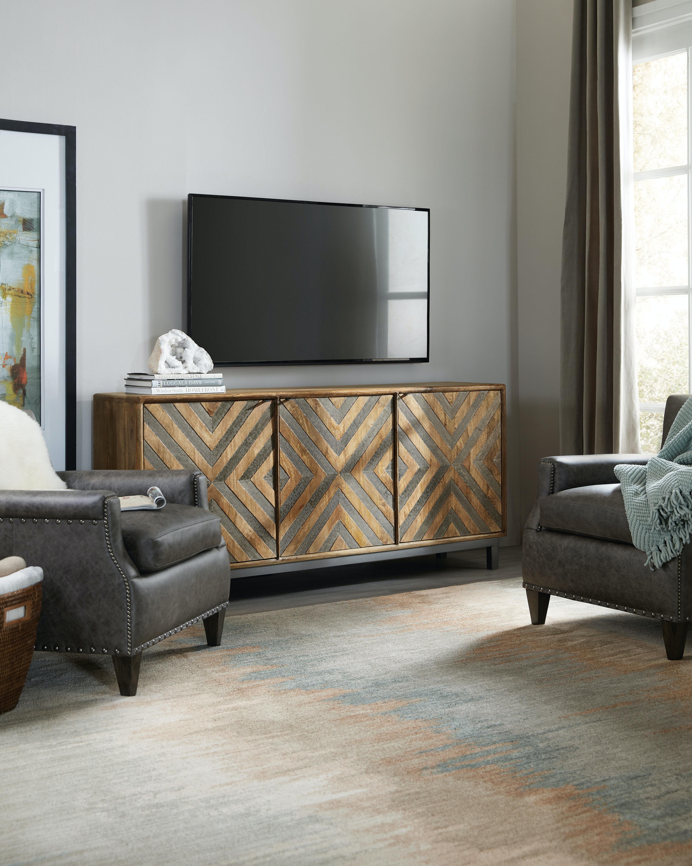 Hooker Furniture Serramonte 69in Entertainment/Accent Console 5649 55469 MWD