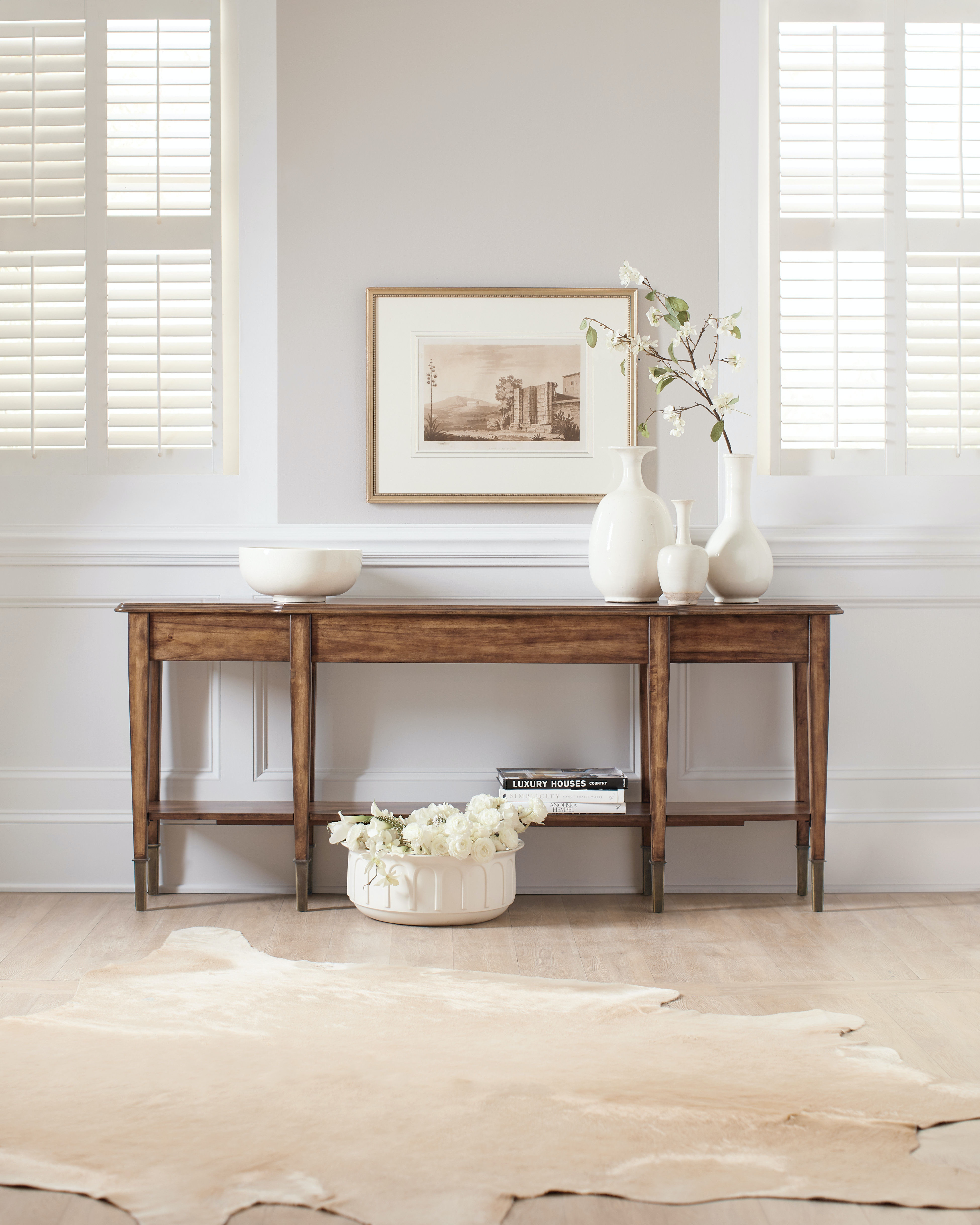 hooker furniture skinny console table - Skinny Console Table