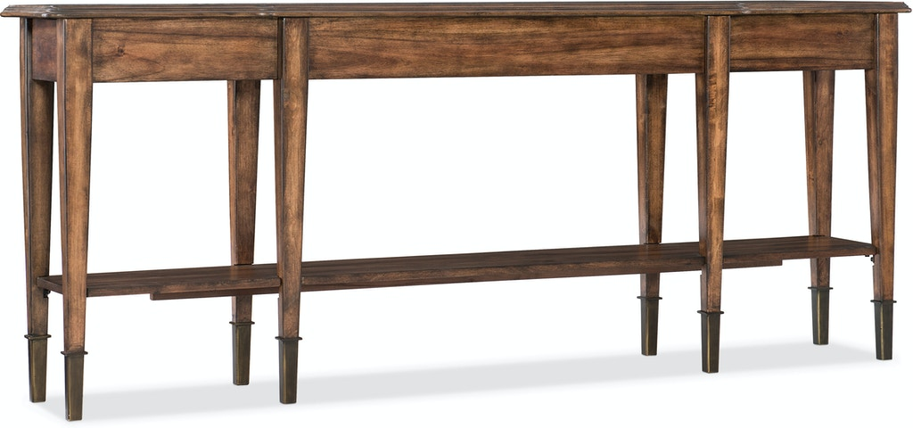 d56711f2c26085 Hooker Furniture Living Room Skinny Console Table 5660-85001-MWD ...