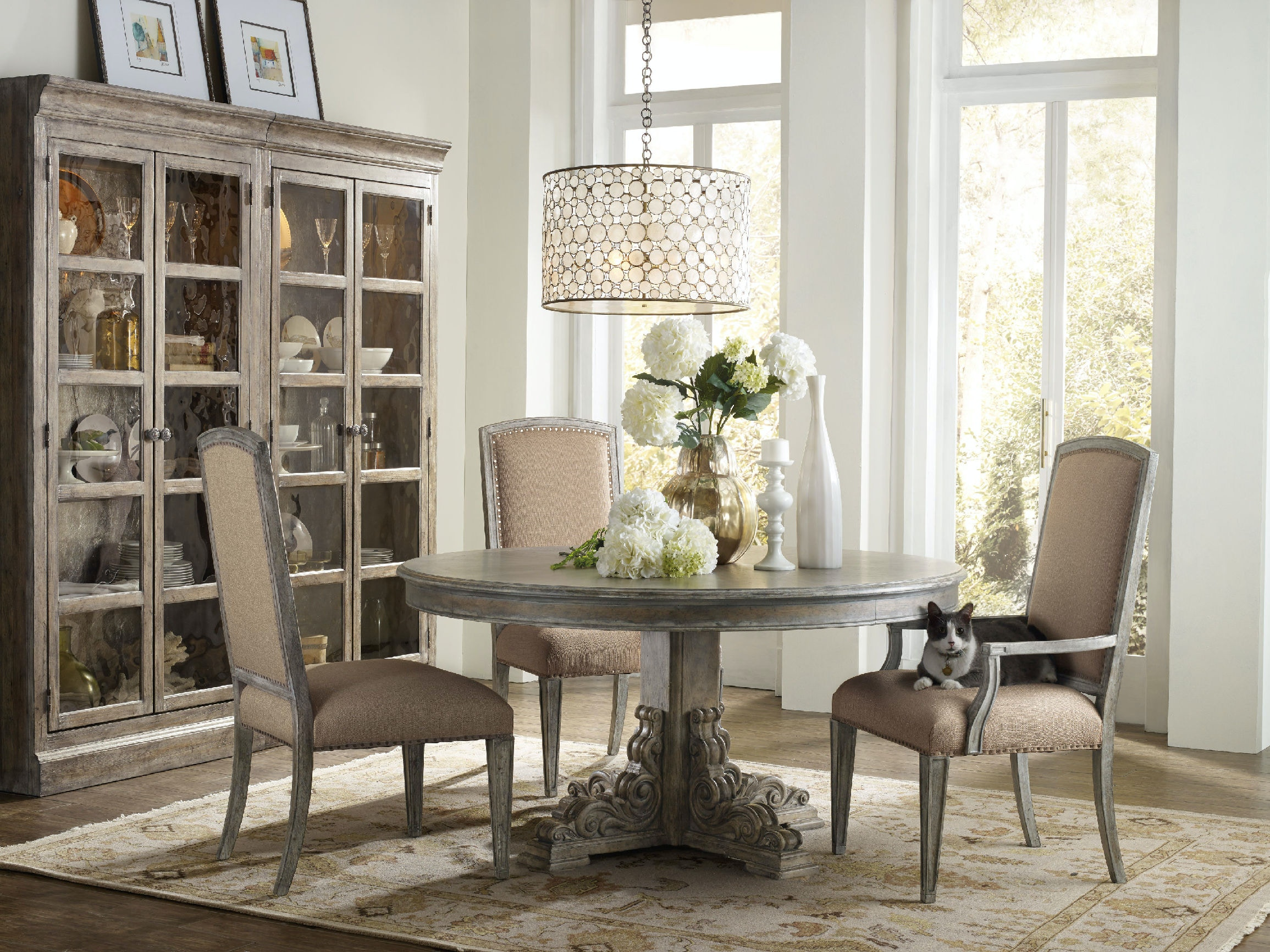 Dining Arm Chairs Upholstered