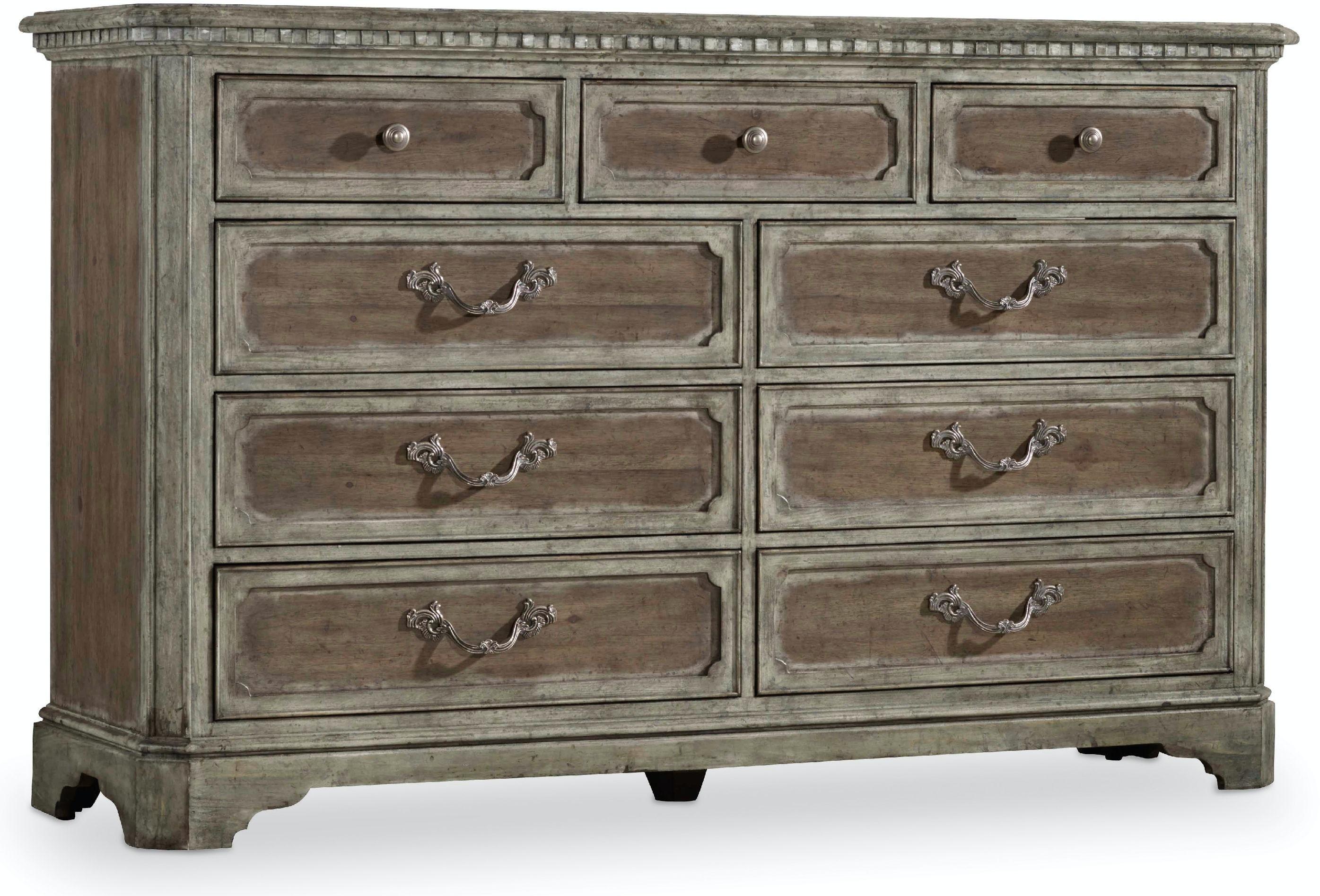 Hooker Furniture Bedroom True Vintage Dresser 5701