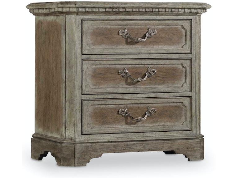 7387cbf43d69c Hooker Furniture Bedroom True Vintage Nightstand 5701-90016 ...