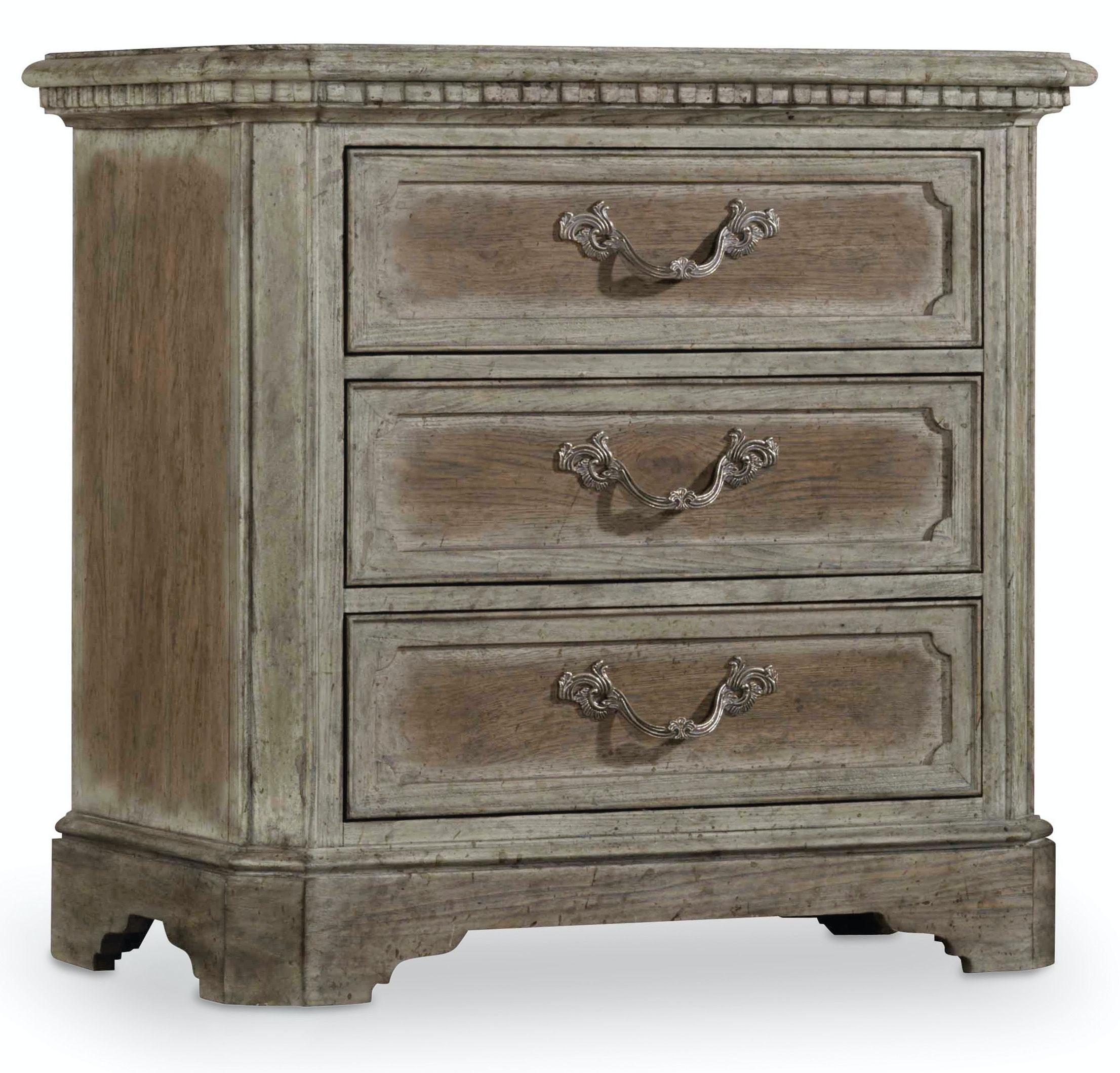 hooker furniture true vintage nightstand