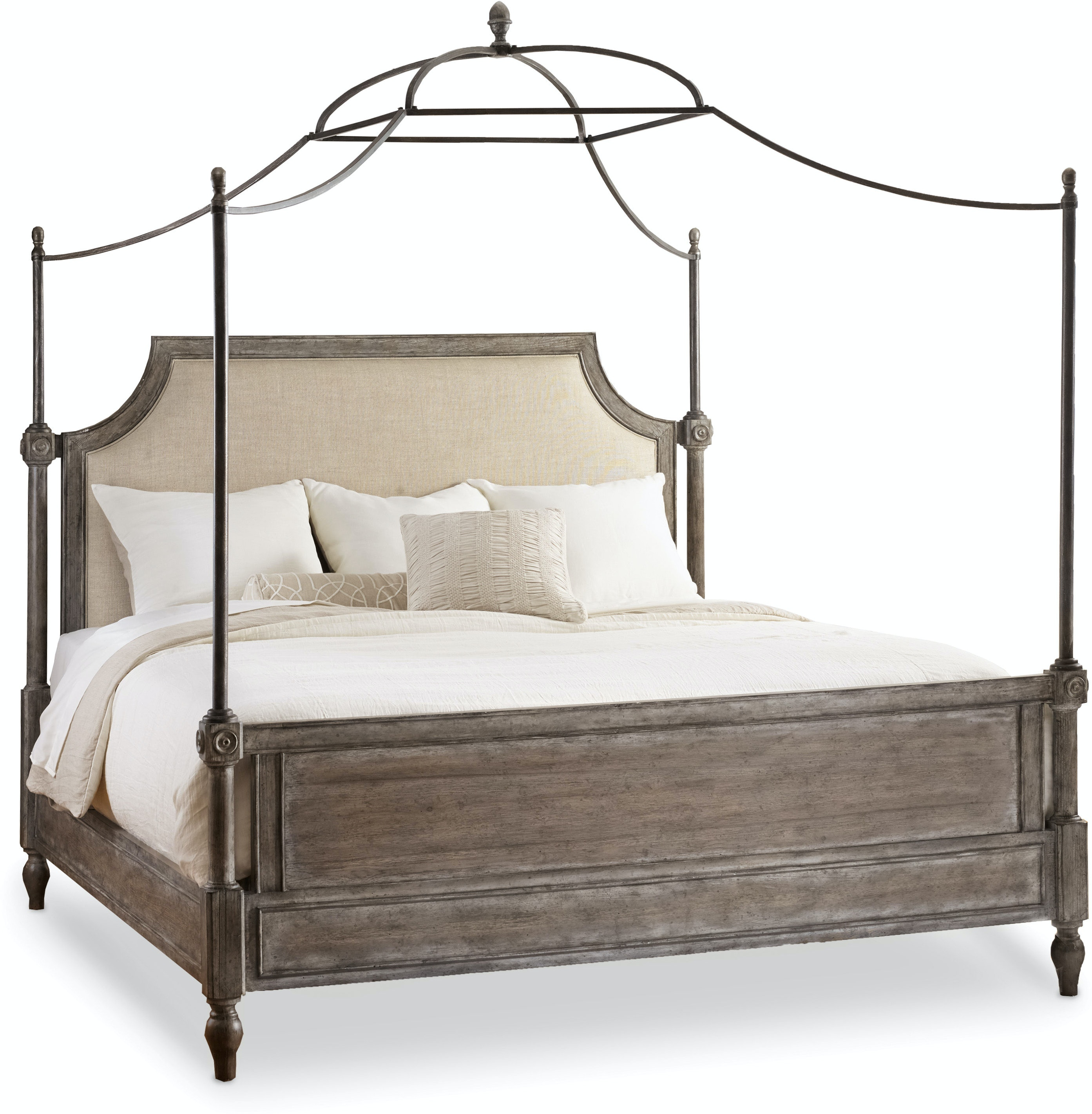 set free garden queen quatrefoil curated canopy today nomad the overstock product shipping home bedroom bed