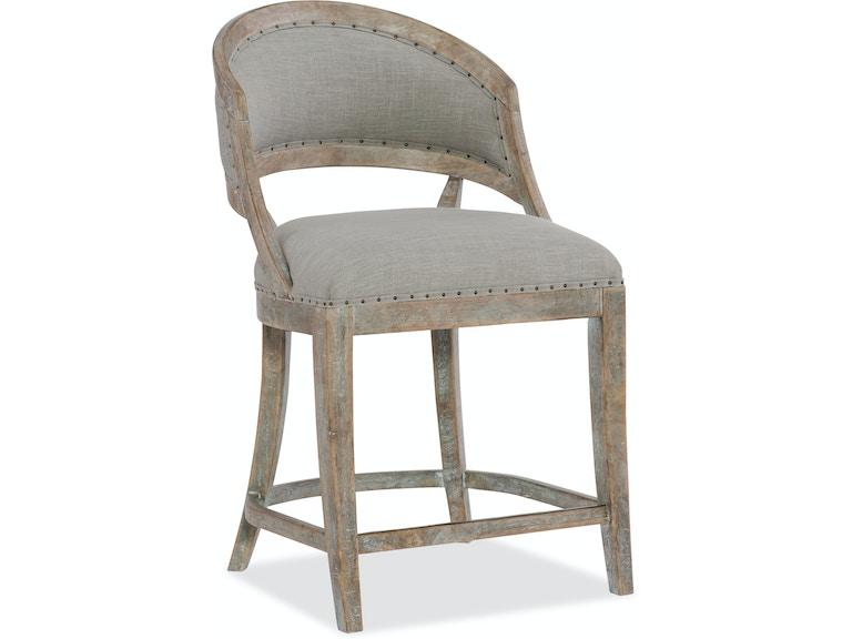 Hooker Furniture Dining Room Boheme Garnier Barrel Back