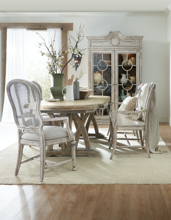 Hooker Furniture 5750-75200-MWD Dining Room Boheme Colibri 88in ...