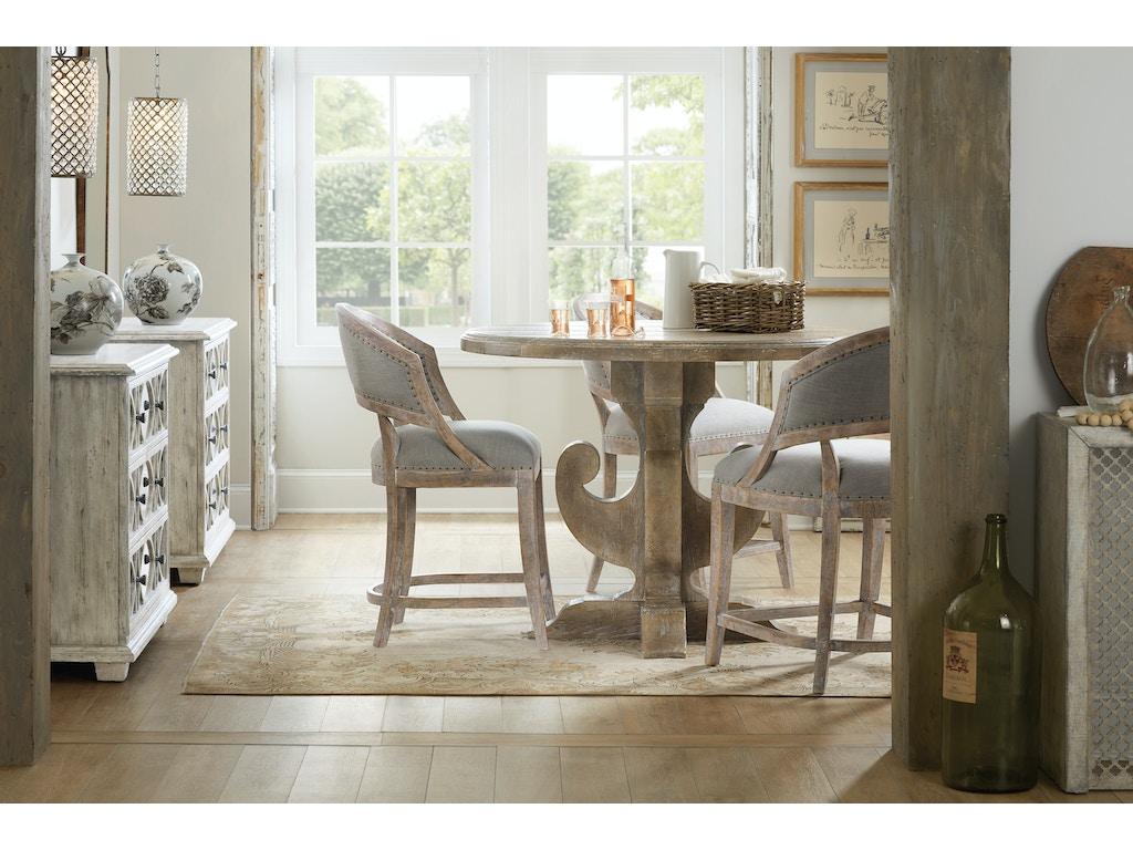 Hooker Furniture Dining Room Boheme Ascension 48in Wood