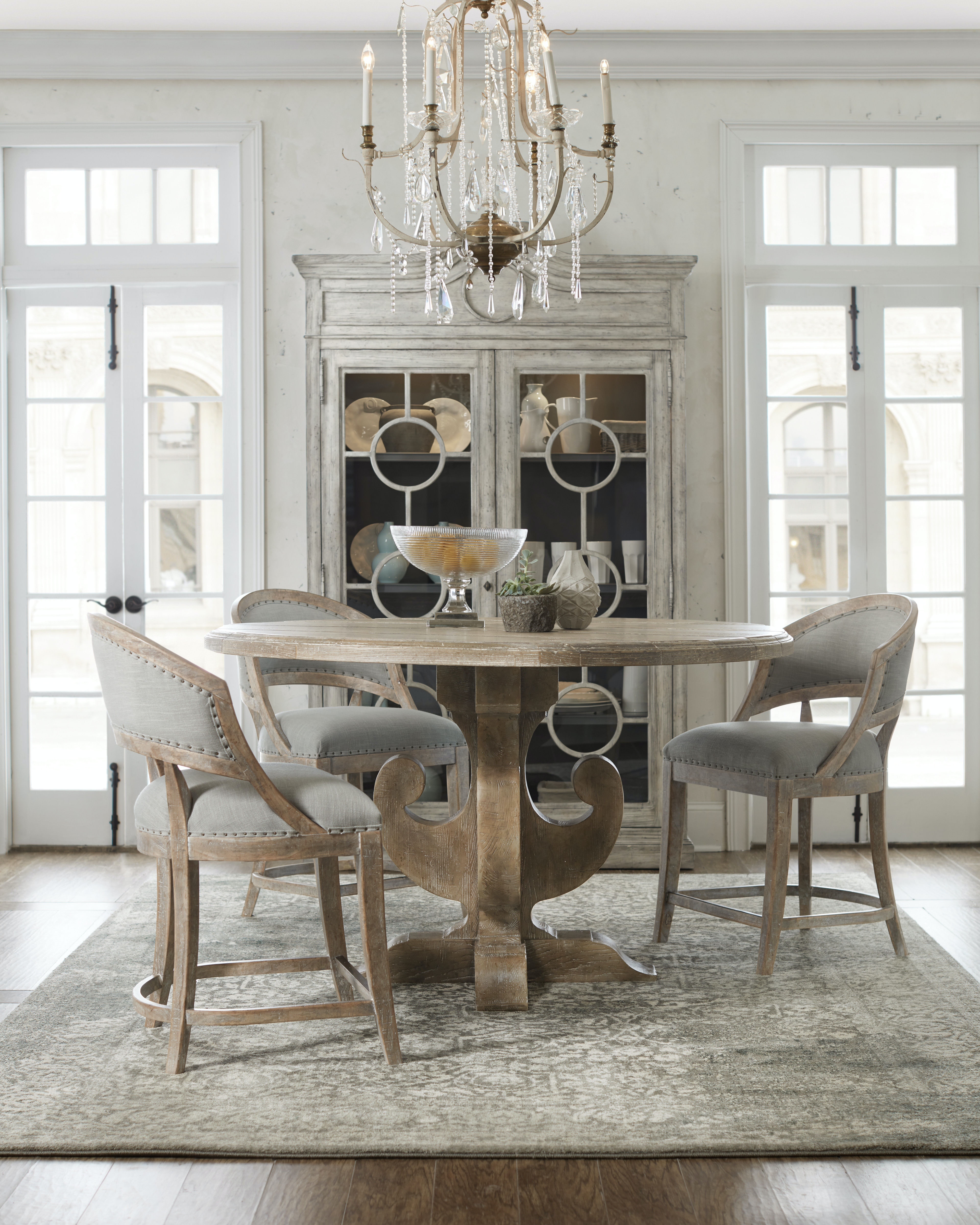 hooker furniture dining room boheme ascension 60in wood round hooker furniture boheme ascension 60in wood round dining table 5750 75213 mwd