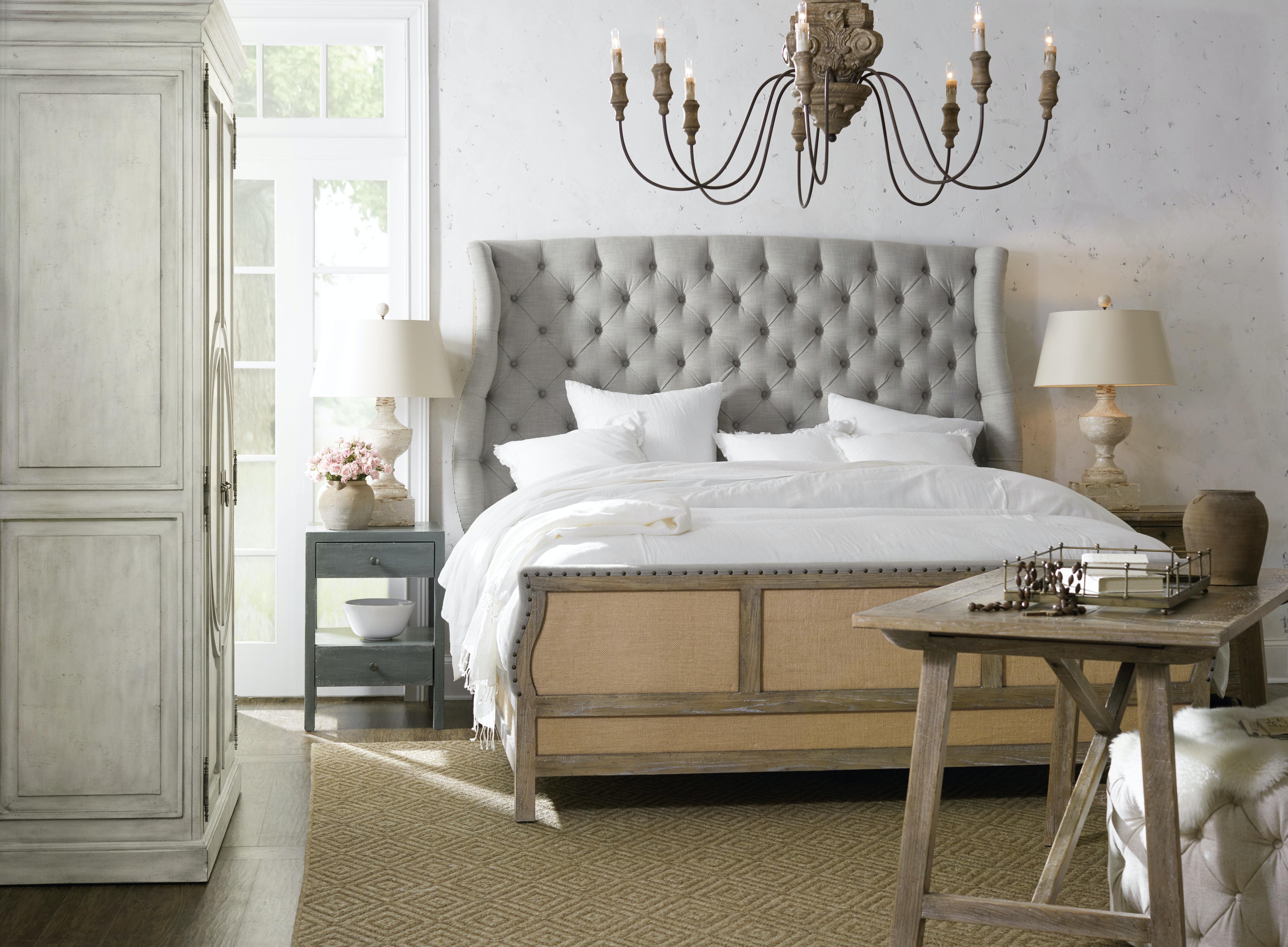 Hooker Furniture Bedroom Boheme Bon Vivant De-Constructed Queen ...