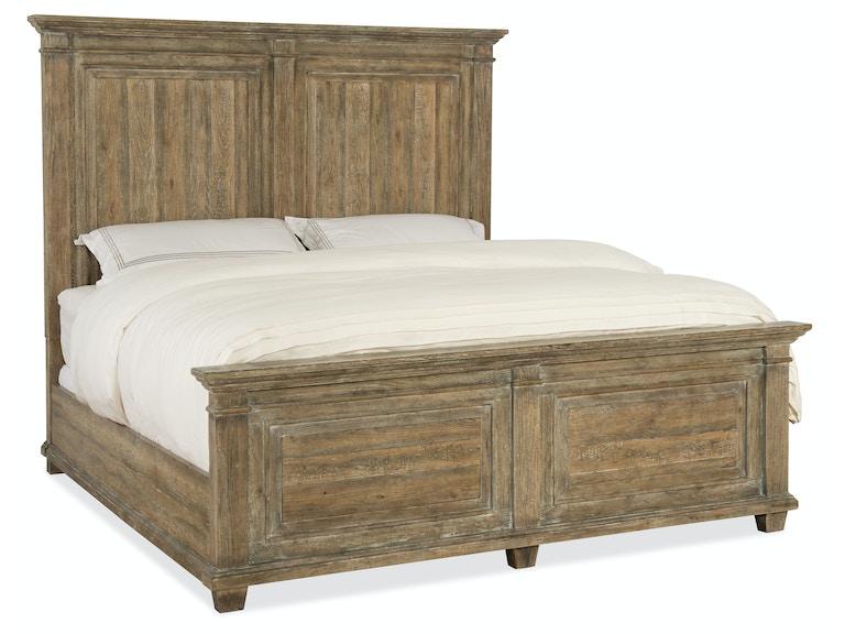Hooker Furniture Bedroom Boheme Laurier King Panel Bed 5750-90266 ...