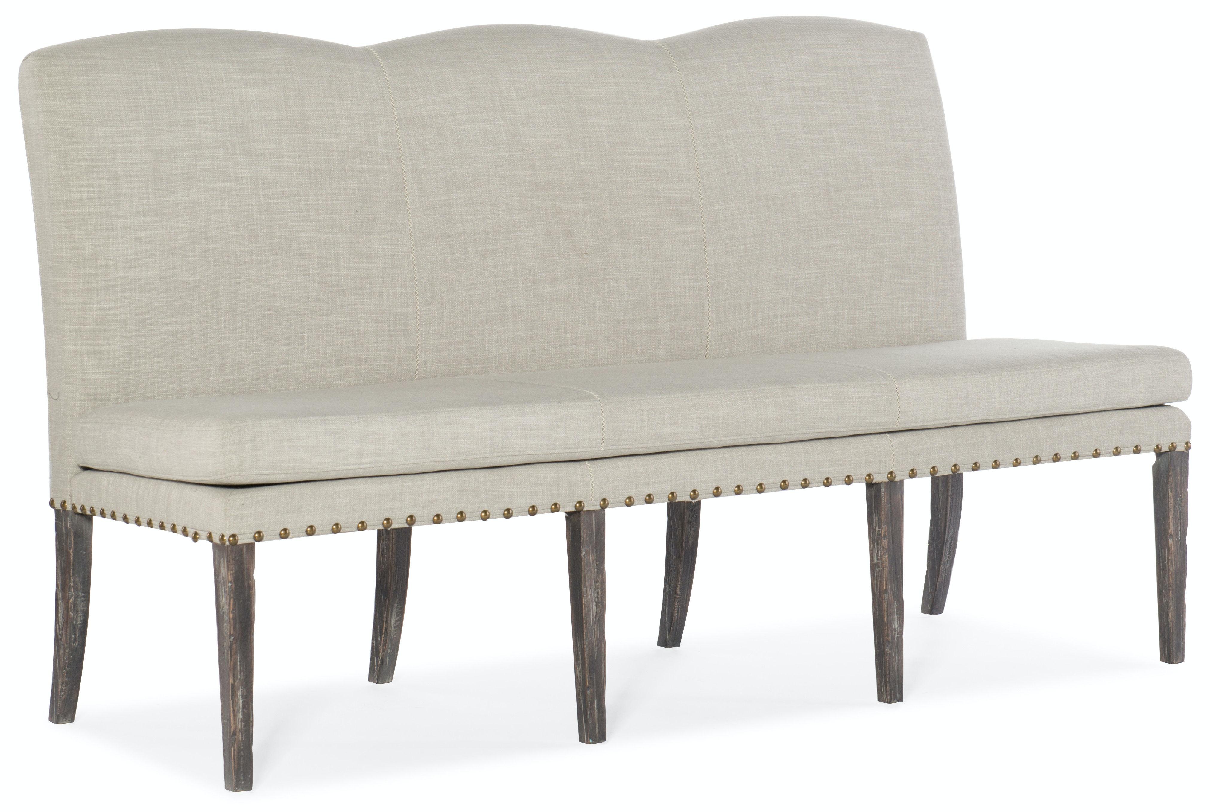 Hooker Furniture Beaumont Upholstered Dining Bench 5751 75315 95
