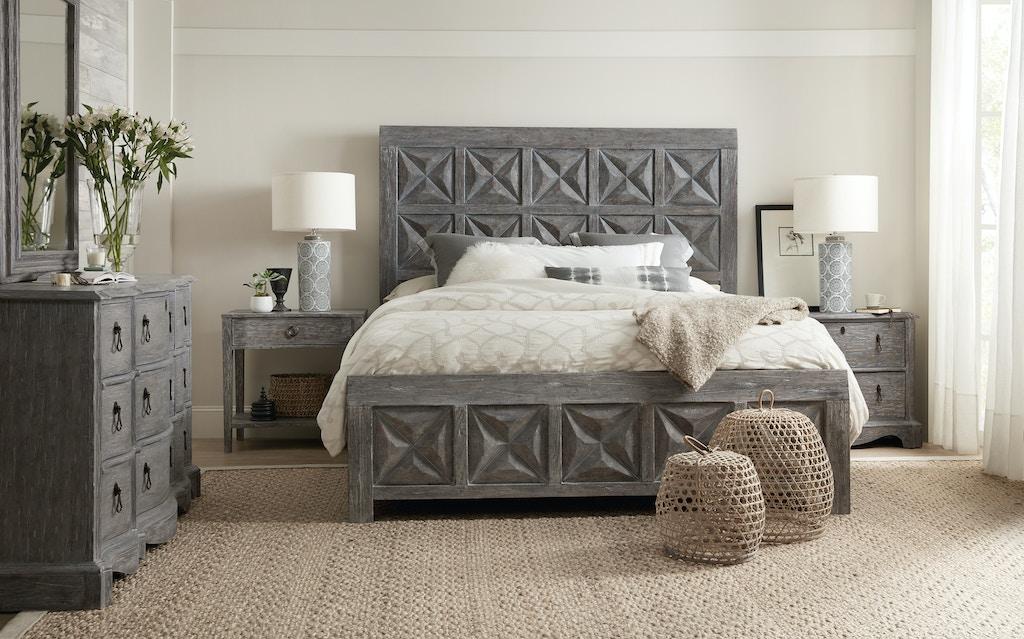 Bedroom Beaumont King Panel Bed 5751 90266 95 Swann S
