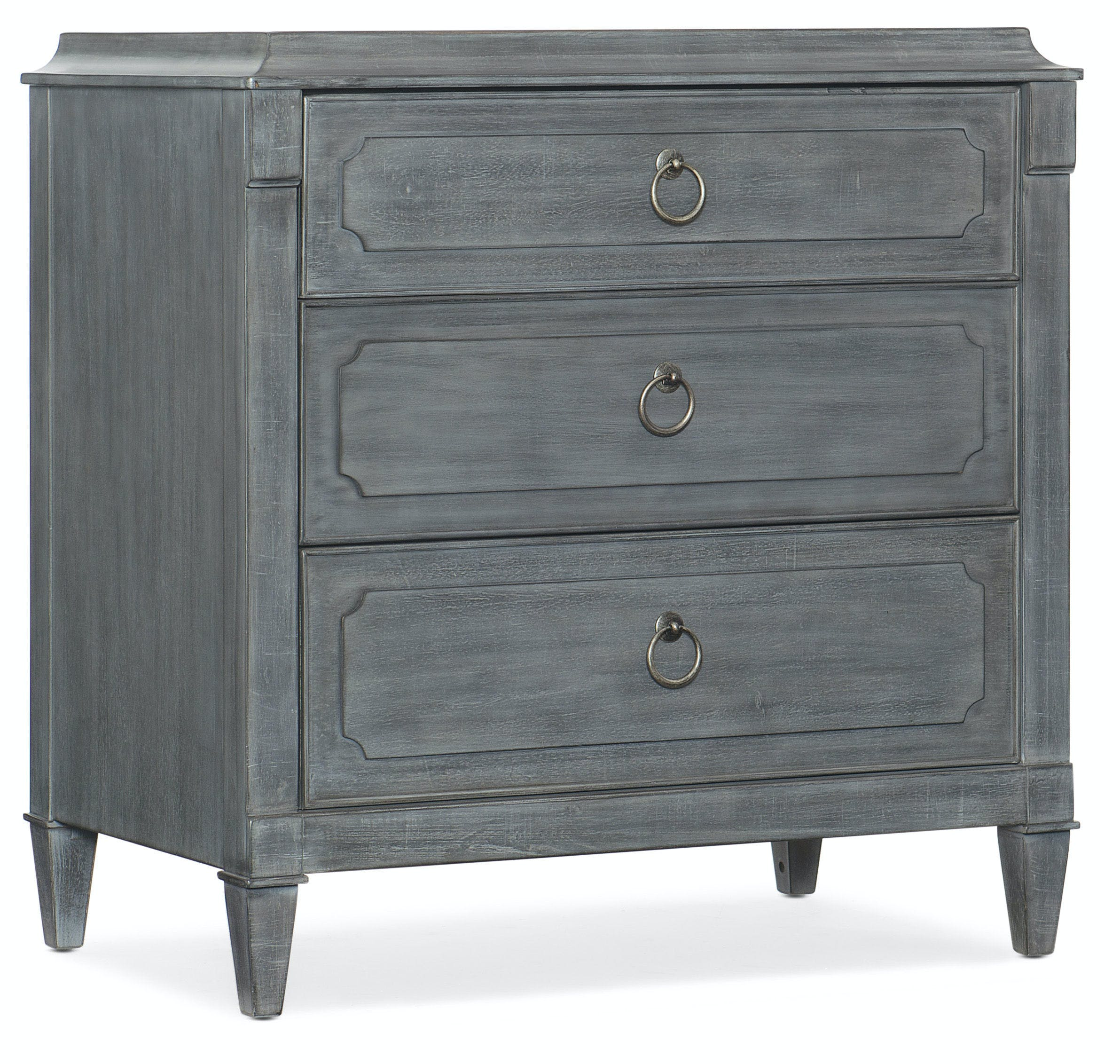 Hooker Furniture Bedroom Hamilton Three Drawer Nightstand
