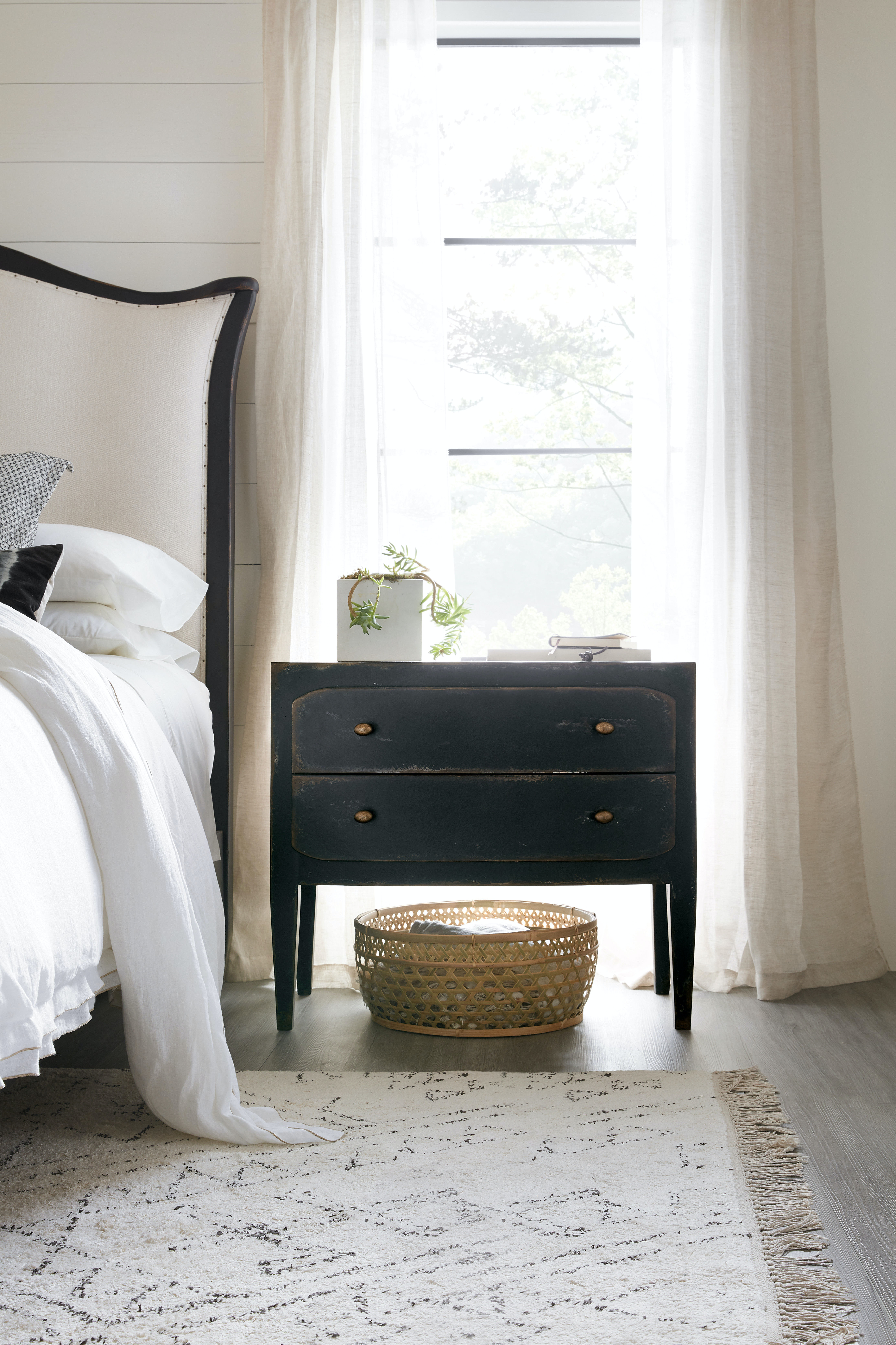 Hooker Furniture Bedroom Ciao Bella Two-Drawer Nightstand ...