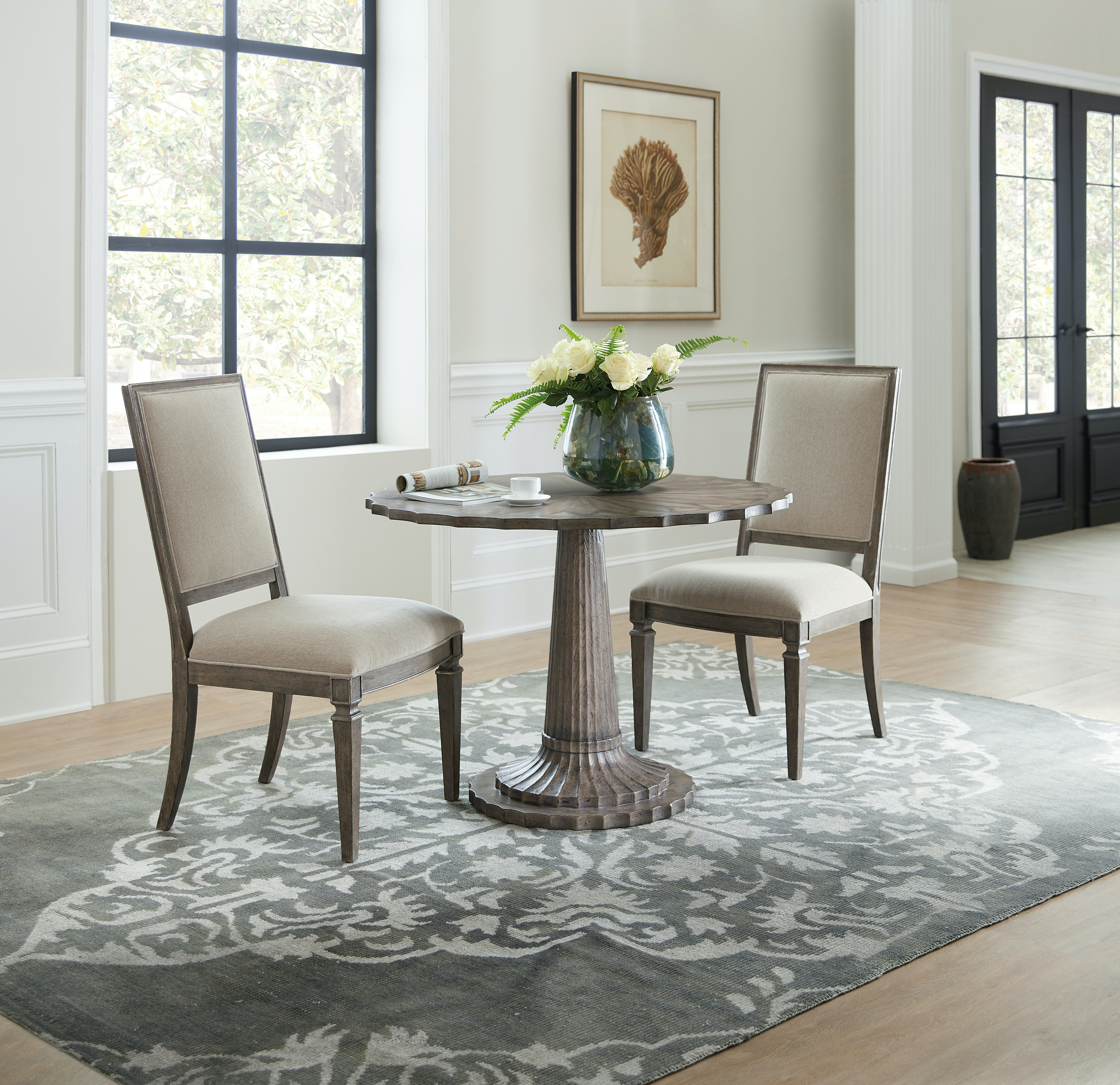 Astonishing Hooker Furniture Dining Room Woodlands Upholstered Side Machost Co Dining Chair Design Ideas Machostcouk