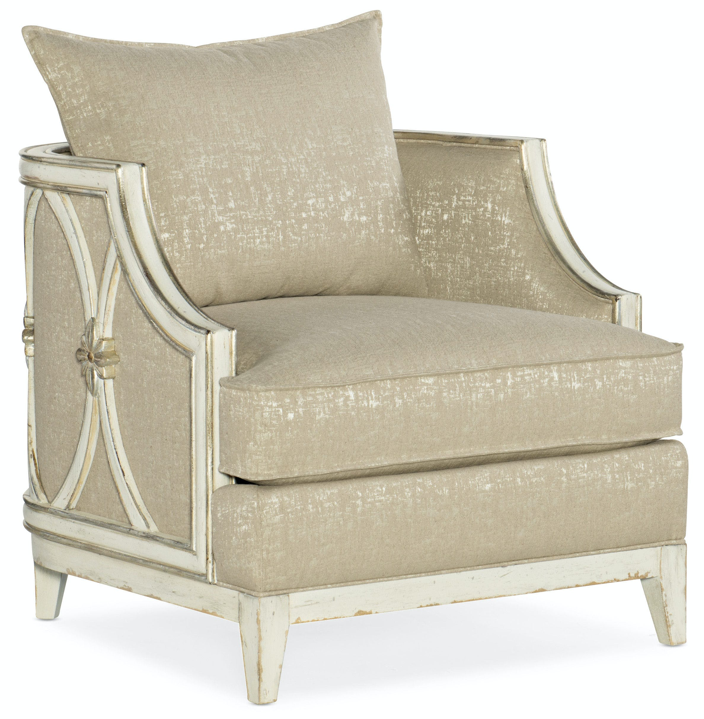 Hooker Furniture Living Room Sanctuary Mariette Lounge Chair
