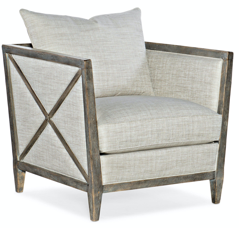 Hooker Furniture Living Room Sanctuary Prim Lounge Chair